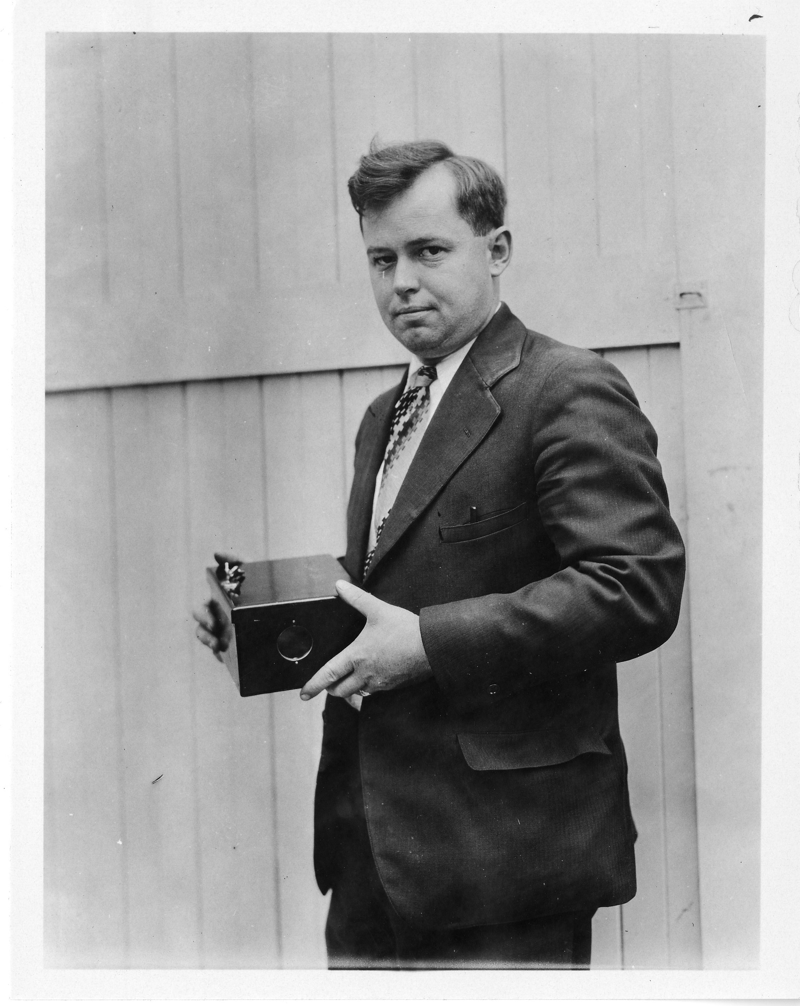 Robert C. Burt (b. 1896), Smithsonian Institution Archives, SIA Acc. 90-105 [SIA2008-0087].