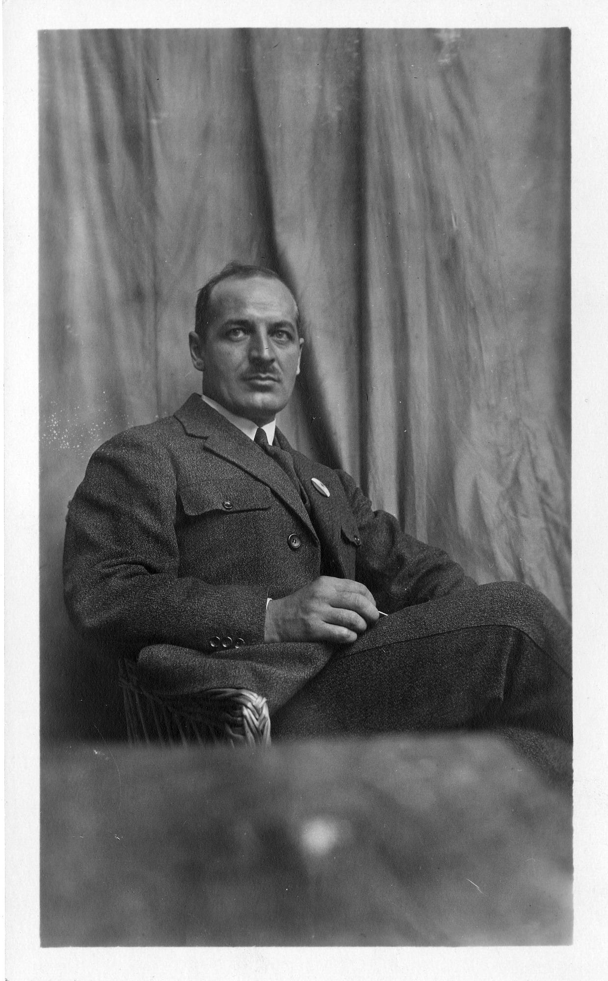 Prosper E. Cholet (b. 1887), Smithsonian Institution Archives, SIA Acc. 90-105 [SIA2008-0245].