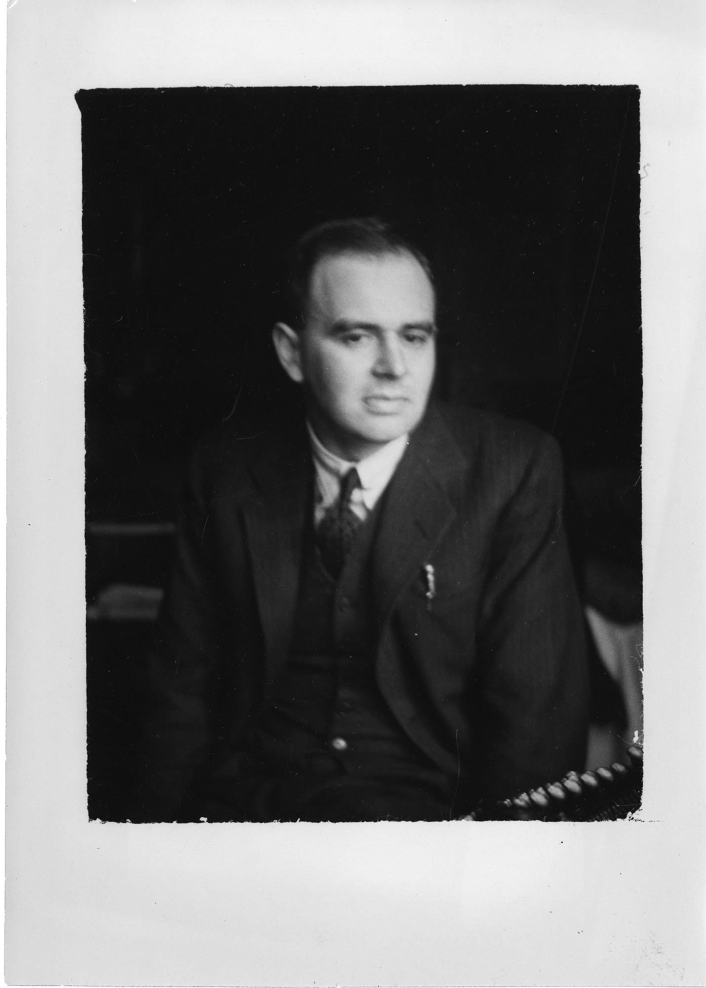 Donald Caley, 1935, Smithsonian Institution Archives, SIA Acc. 90-105 [SIA2008-0260].