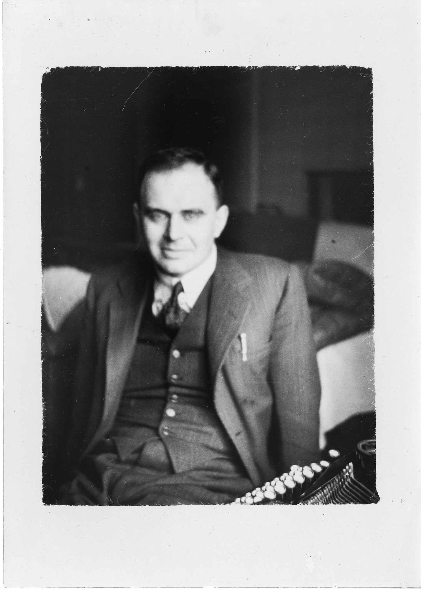 Donald Caley, 1935, Smithsonian Institution Archives, SIA Acc. 90-105 [SIA2008-0261].