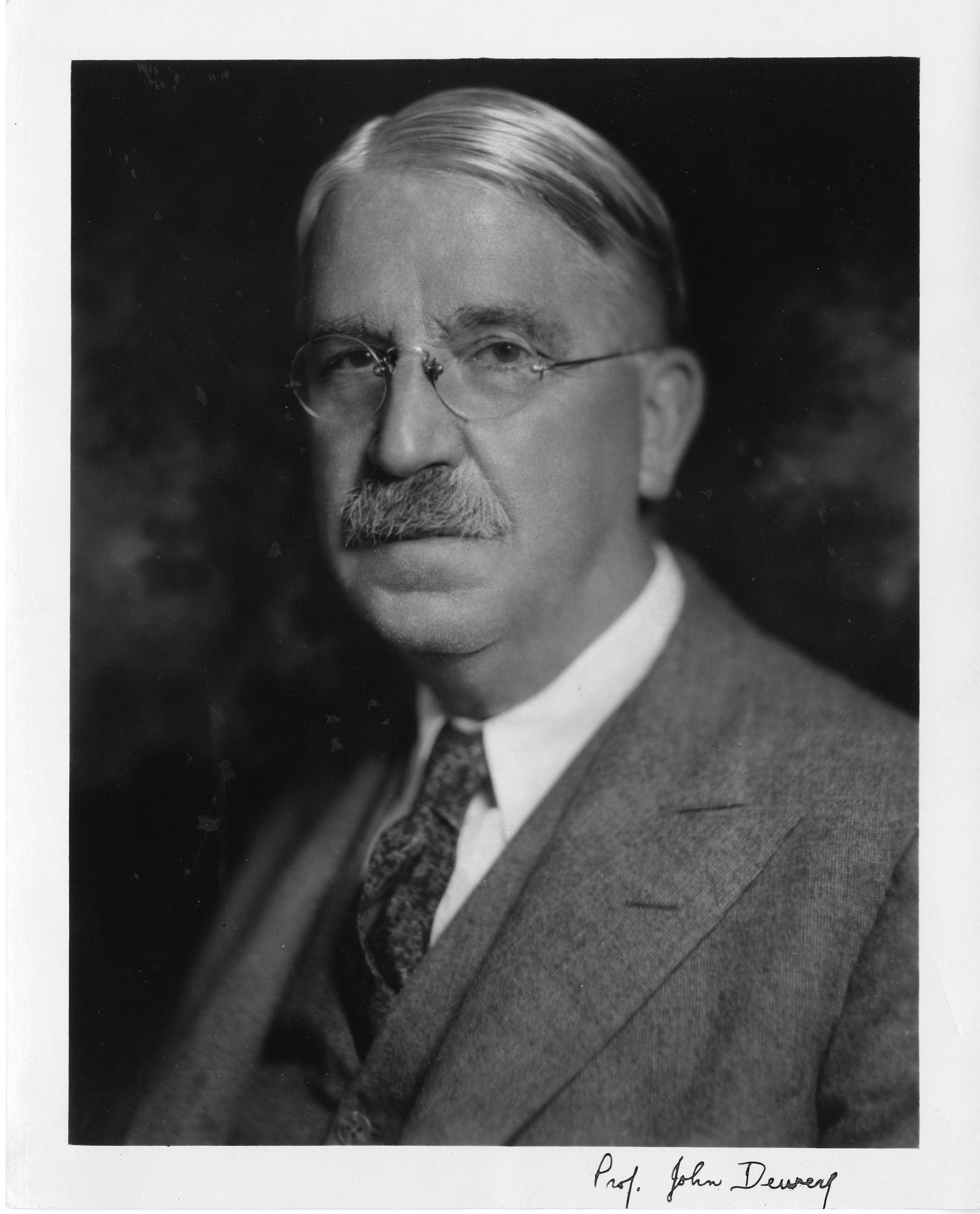 John Dewey (1859-1952), Smithsonian Institution Archives, SIA Acc. 90-105 [SIA2008-0456].