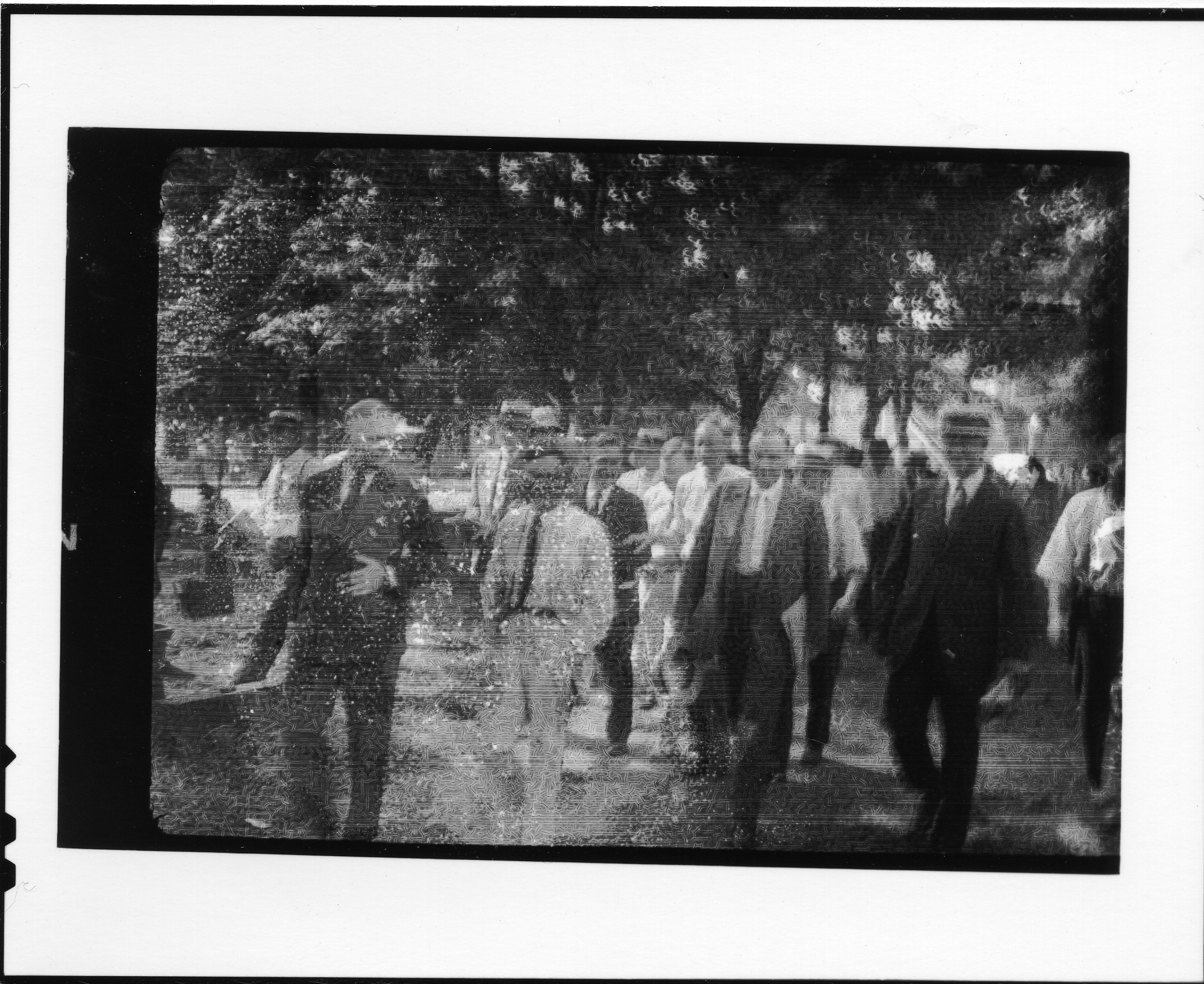 Tennessee v. John T. Scopes Trial: Group of men walking