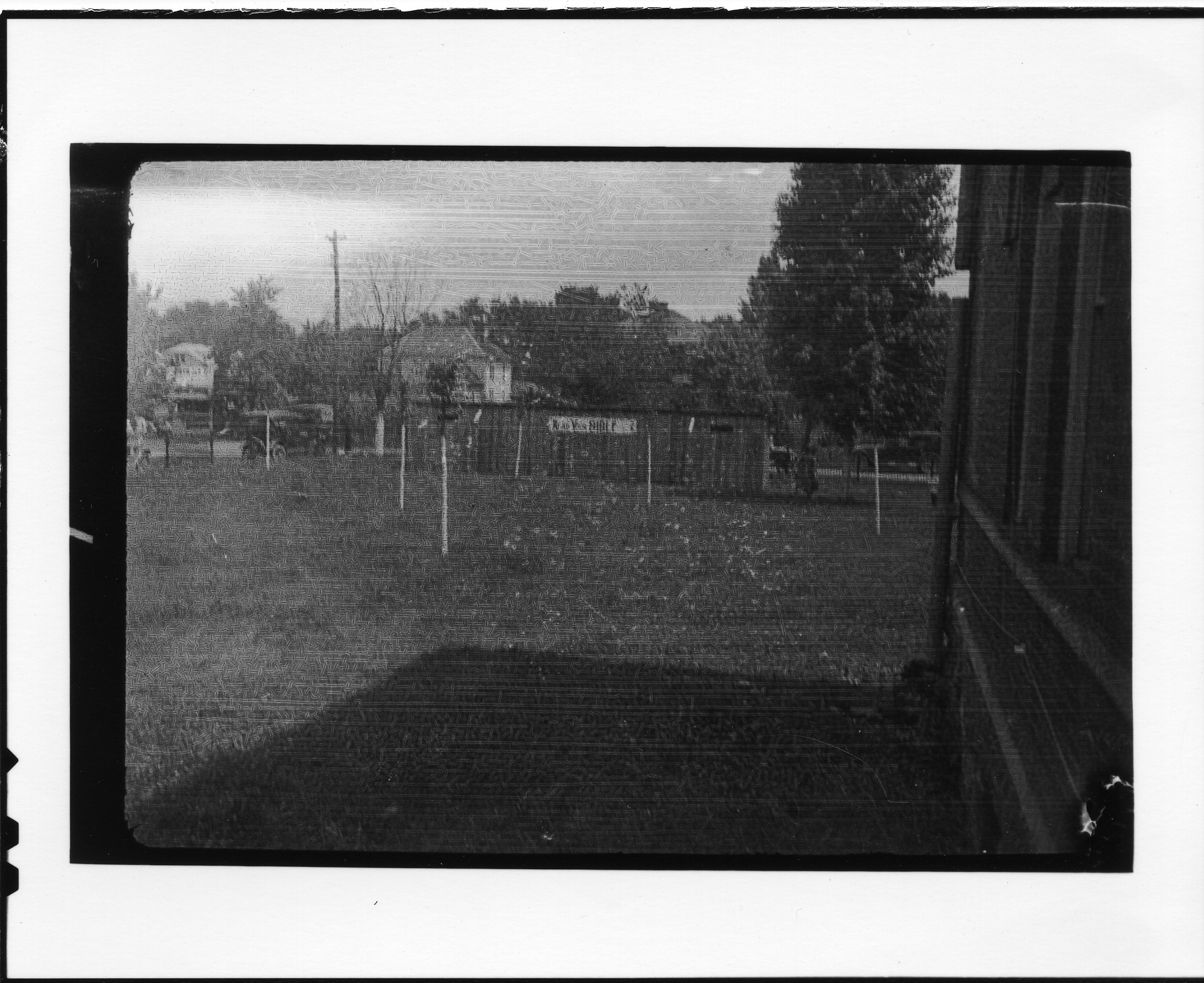 """Privies with """"Read Your Bible"""" sign during time of Scopes Trial, Dayton, Tennessee"""
