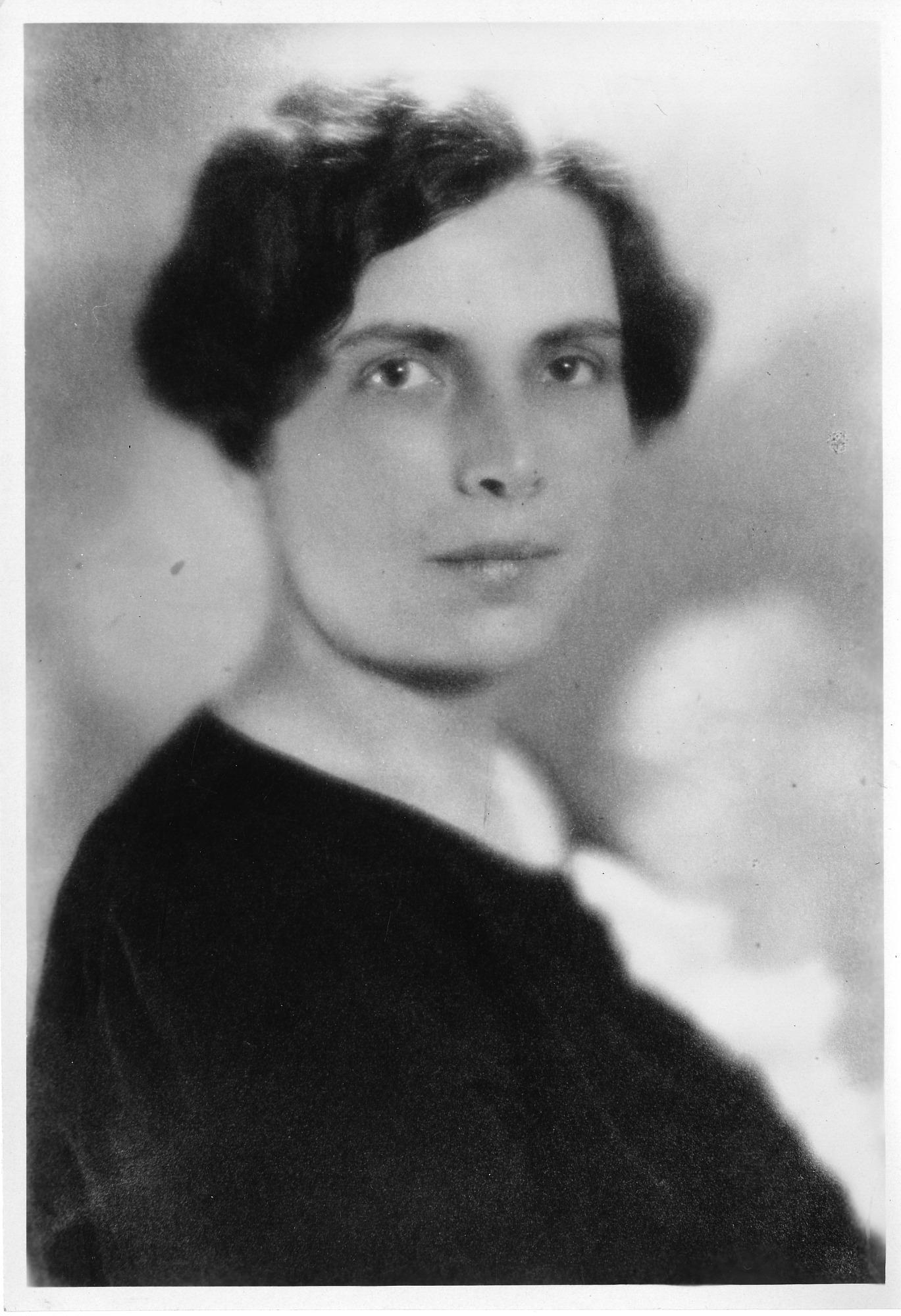 Gladys Rowena Henry Dick (1881-1963) undated