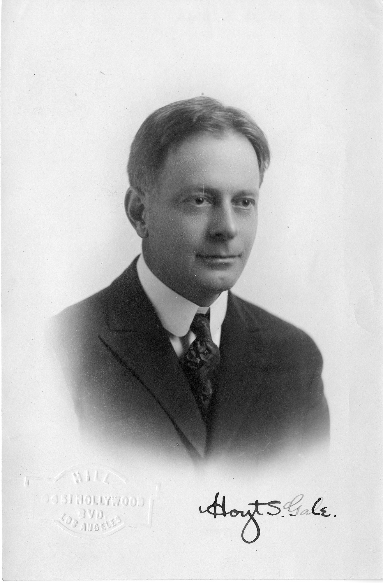 Hoyt Stoddard Gale (1876-1952), Smithsonian Institution Archives, SIA Acc. 90-105 [SIA2008-1782].