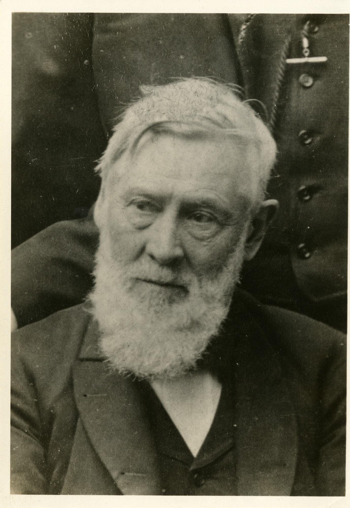 Asa Gray (1810-1888), 1886, Smithsonian Institution Archives, SIA Acc. 90-105 [SIA2008-2056].