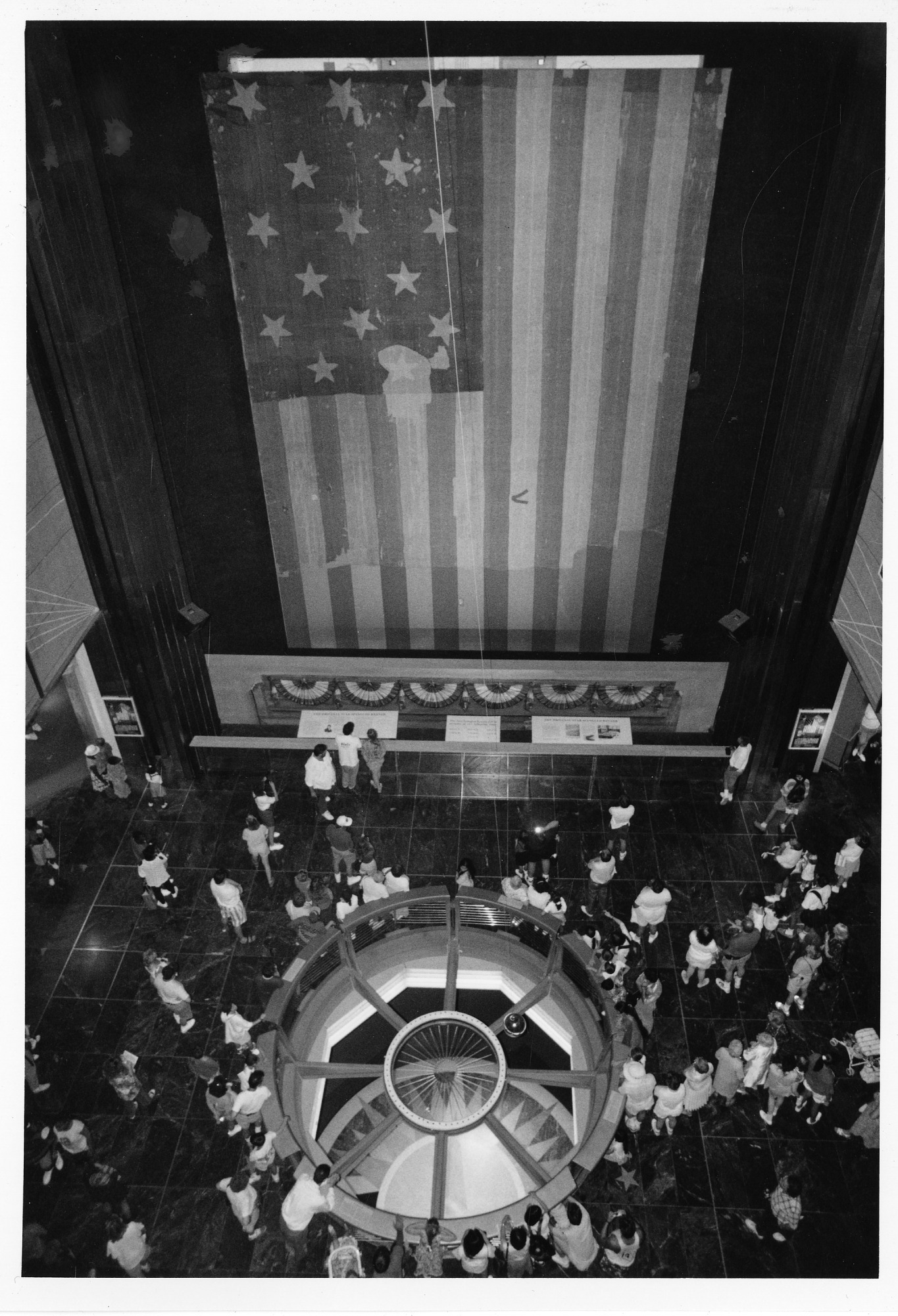 Foucault Pendulum and the Star-Spangled Banner