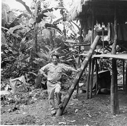 Watson M. Perrygo on a Field Collecting Trip to Panama