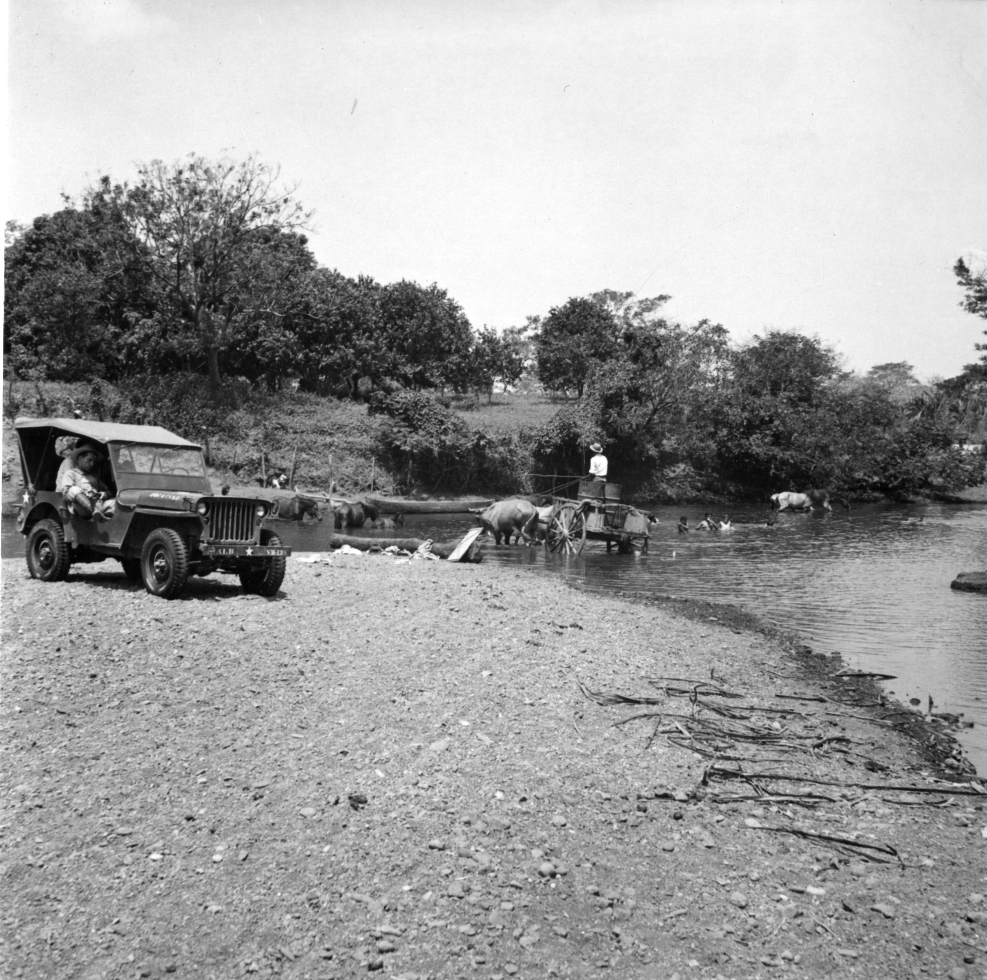 Ford on Rio Parita, Panama