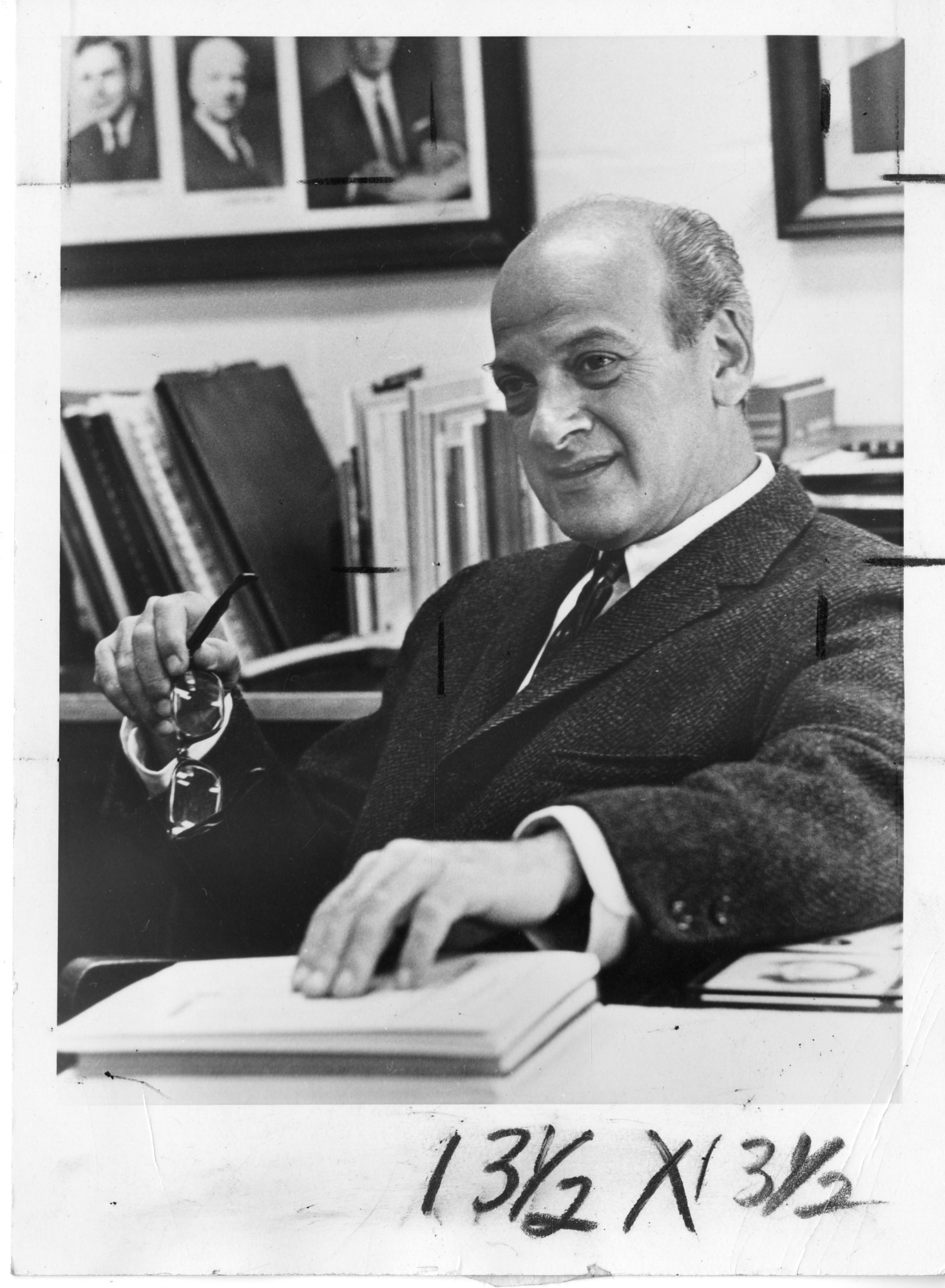 Philip Handler (1917-1981), Smithsonian Institution Archives, SIA Acc. 90-105 [SIA2008-3326].