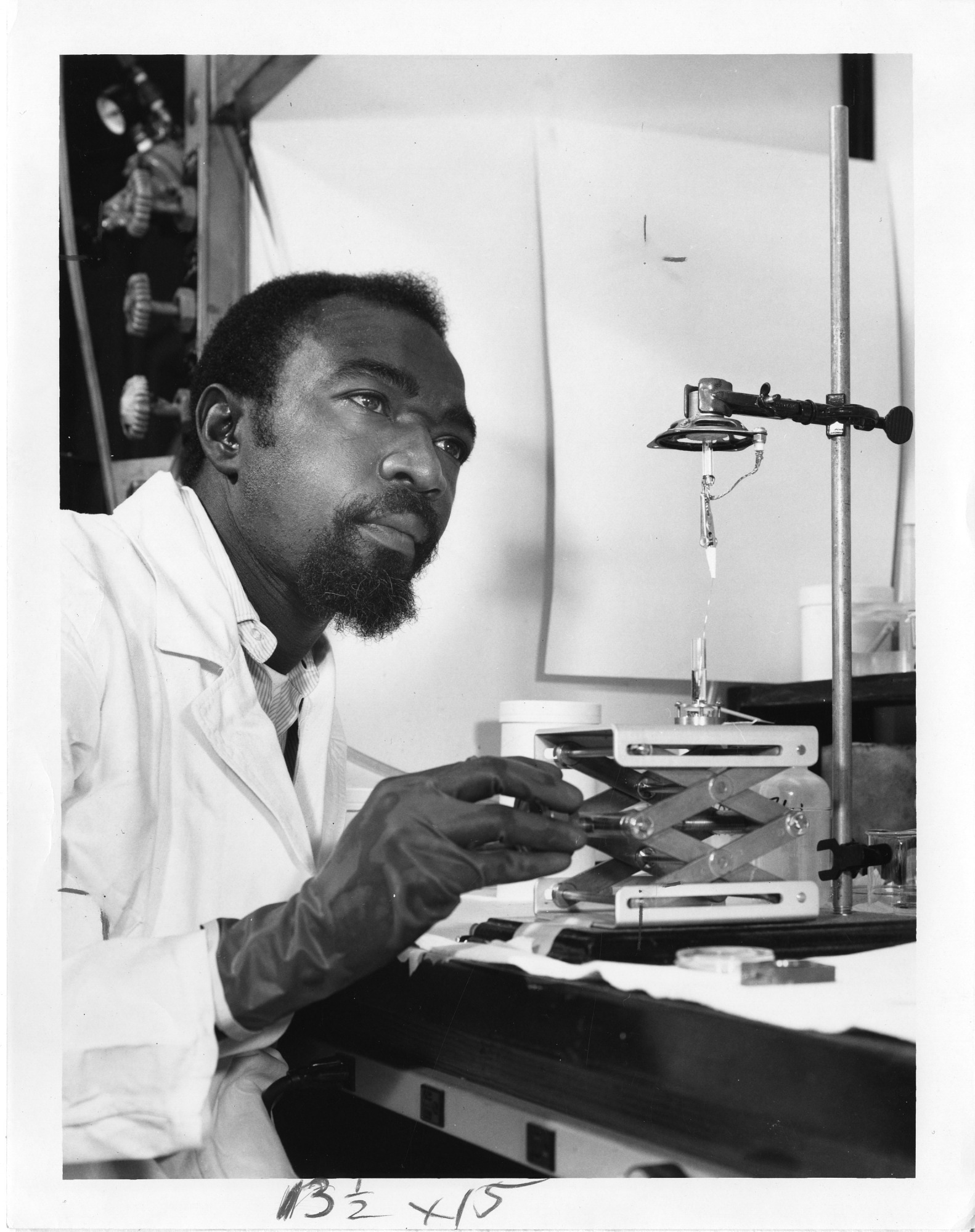 James Andrew Harris, 1969, 1969, Smithsonian Institution Archives, SIA Acc. 90-105 [SIA2008-3327].