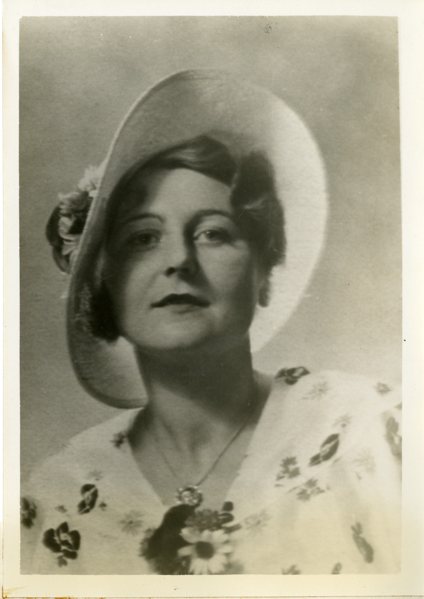 Editha Karl-Kroupa, 1934, Smithsonian Institution Archives, SIA Acc. 90-105 [SIA2008-4975].