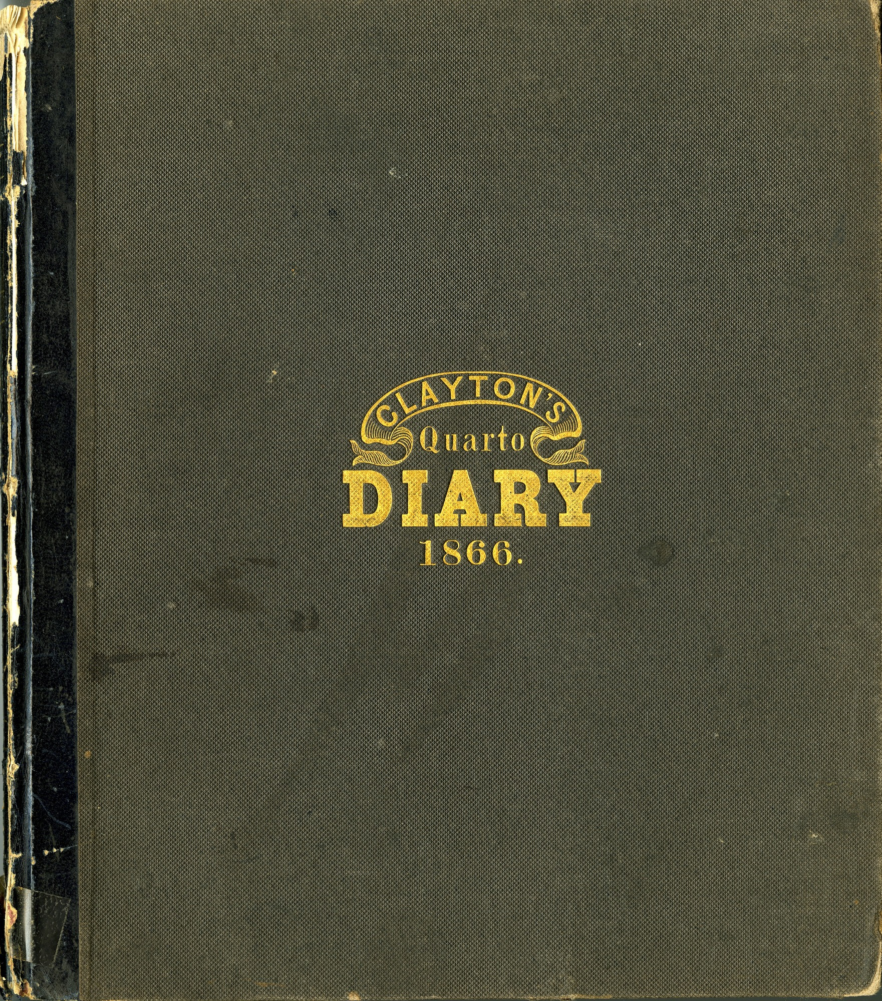 Excerpt from Joseph Henry's Desk Diary (October 10, 1866)