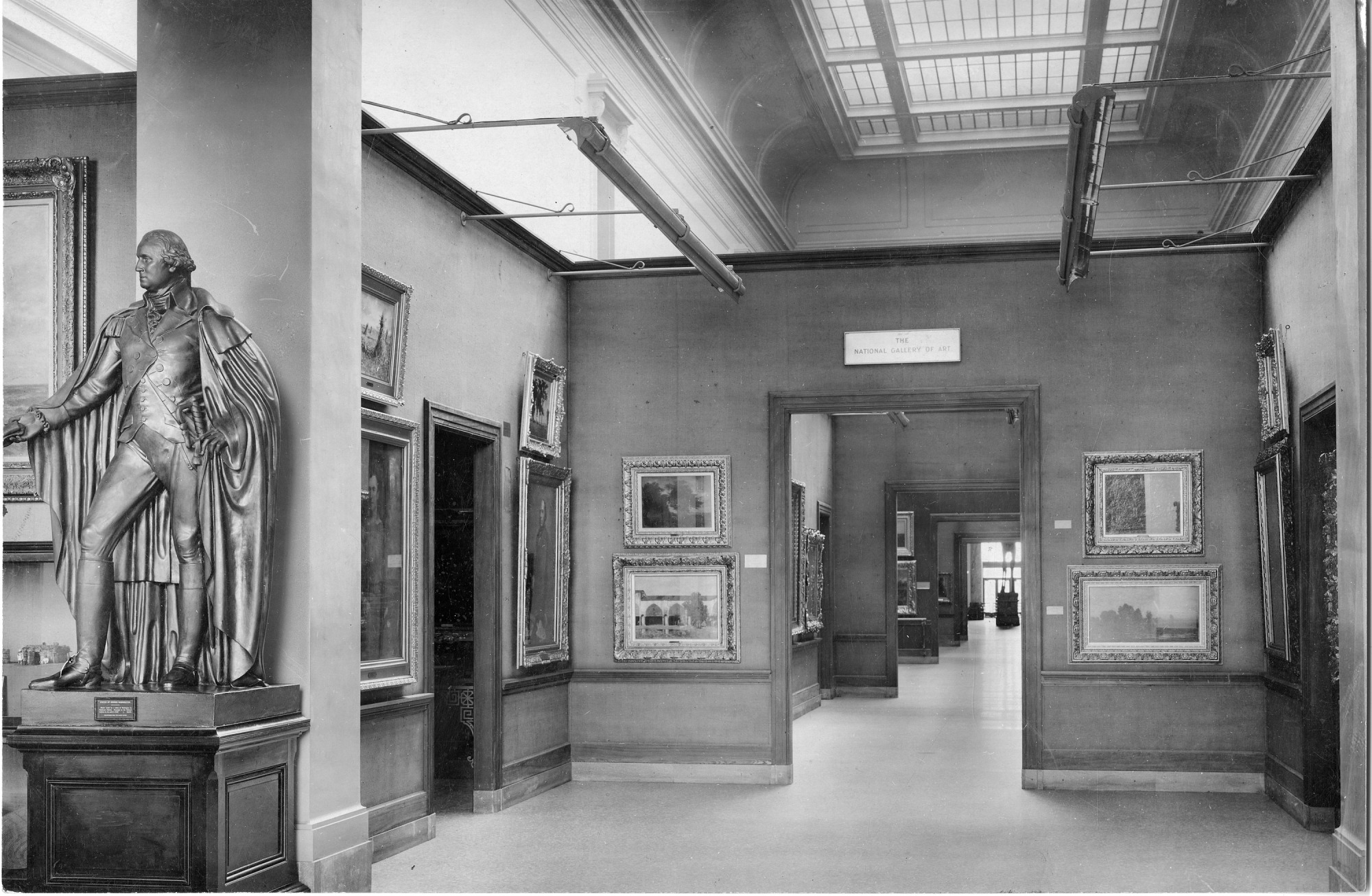 National Gallery of Art in the Natural History Building, 1911