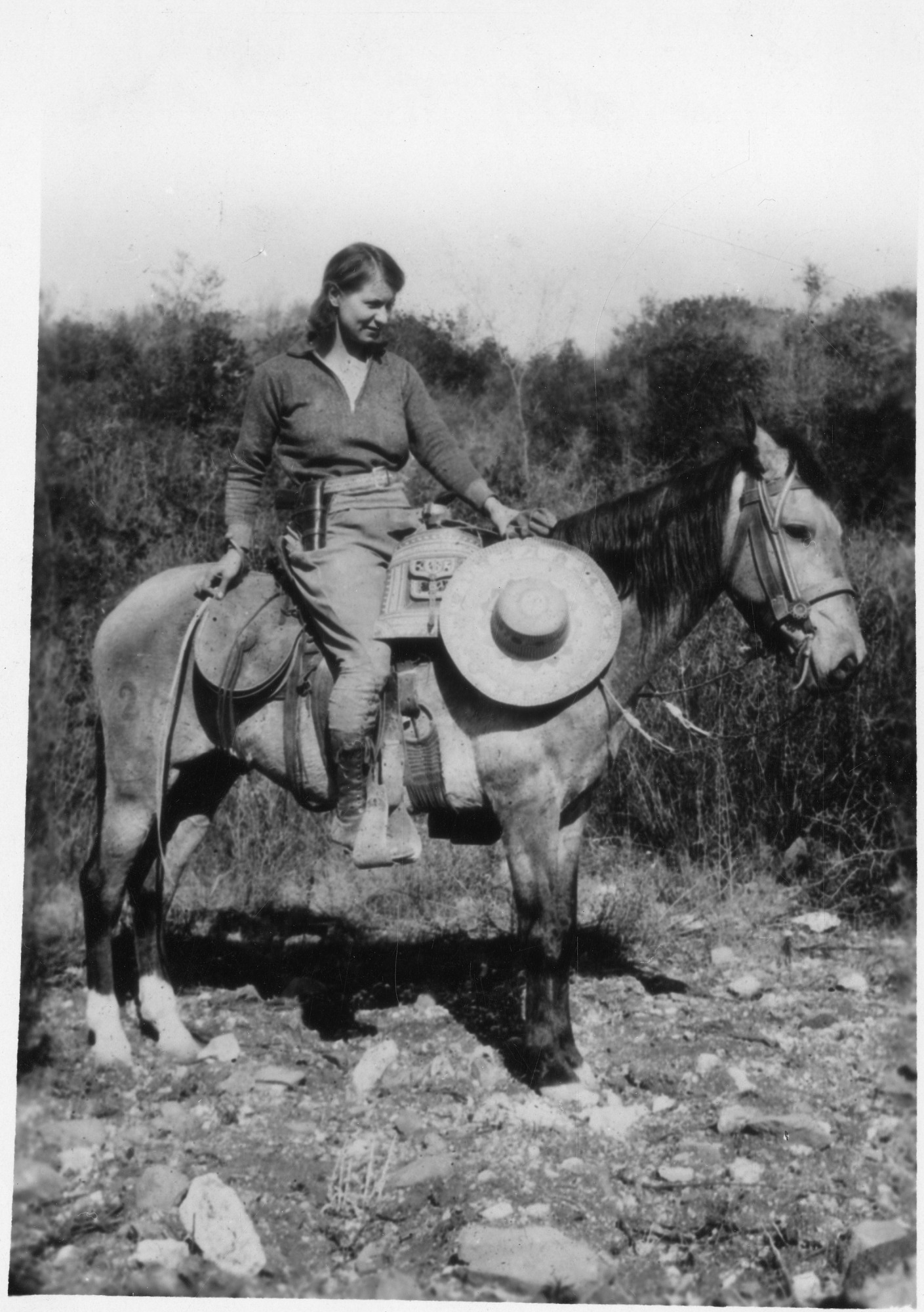 Emma Reh (1896-1982), Smithsonian Institution Archives, SIA Acc. 90-105 [SIA2009-2150].