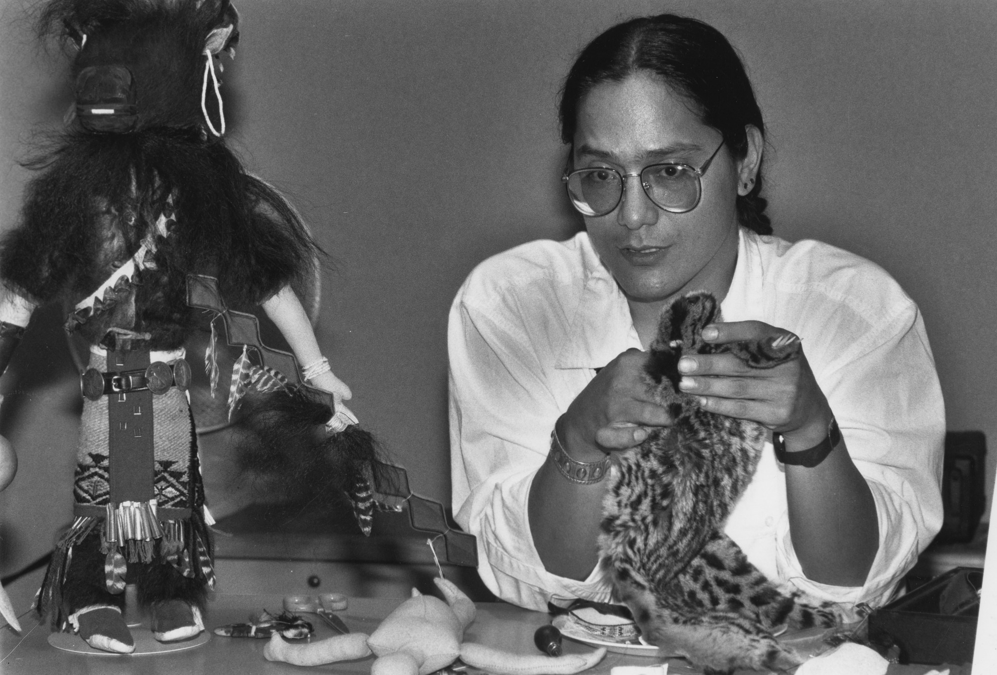 Don Tenoso, Sioux Doll-maker and Puppeteer