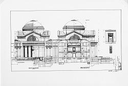 NMNH Exterior Elevation, 1906