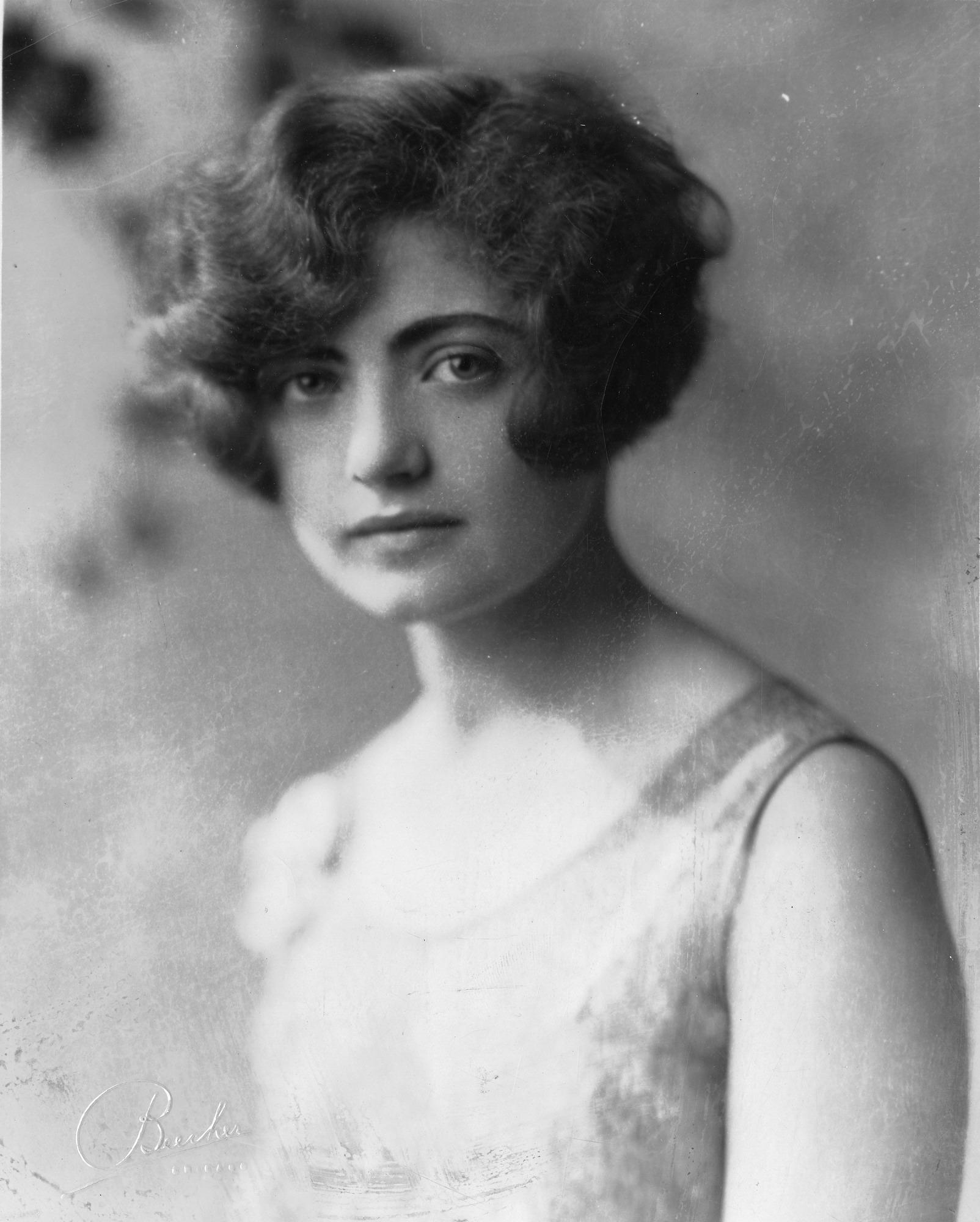 Dena Evelyn Shapiro [Joseph], Smithsonian Institution Archives, SIA Acc. 90-105 [SIA2009-3244].