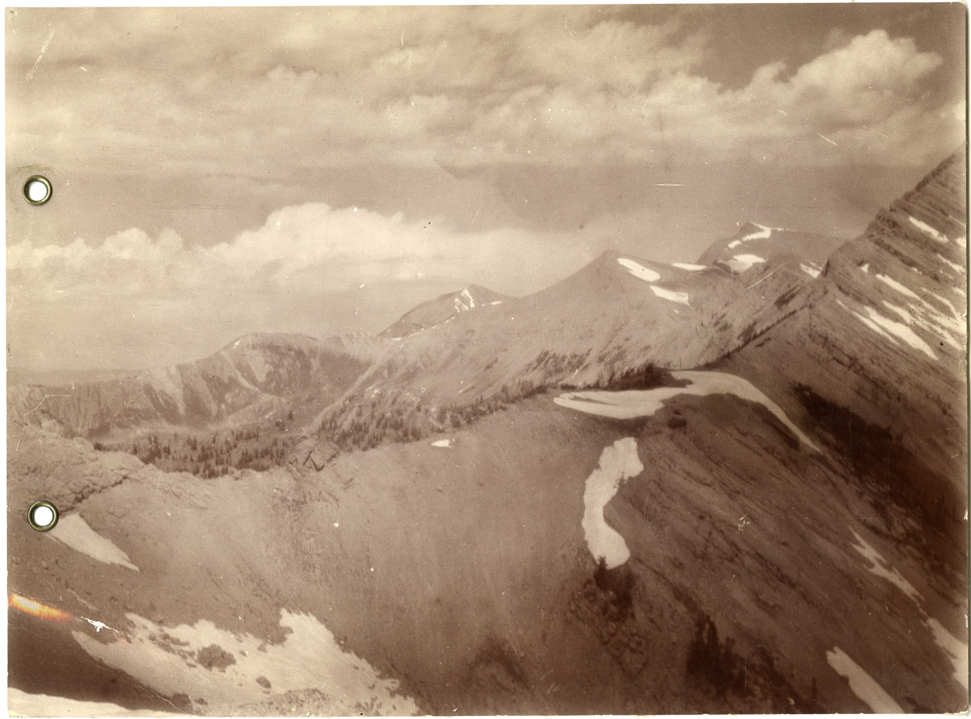 Panorama of the Canadian Rockies