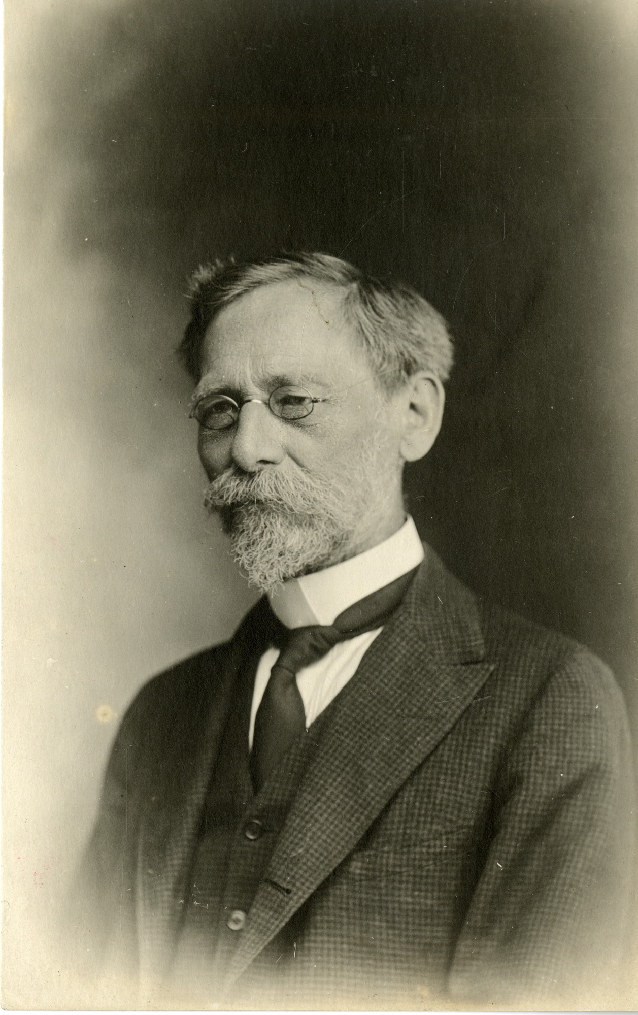Leonhard Stejneger, by Unknown, circa 1920, Smithsonian Archives - History Div, SIA2009-4251.