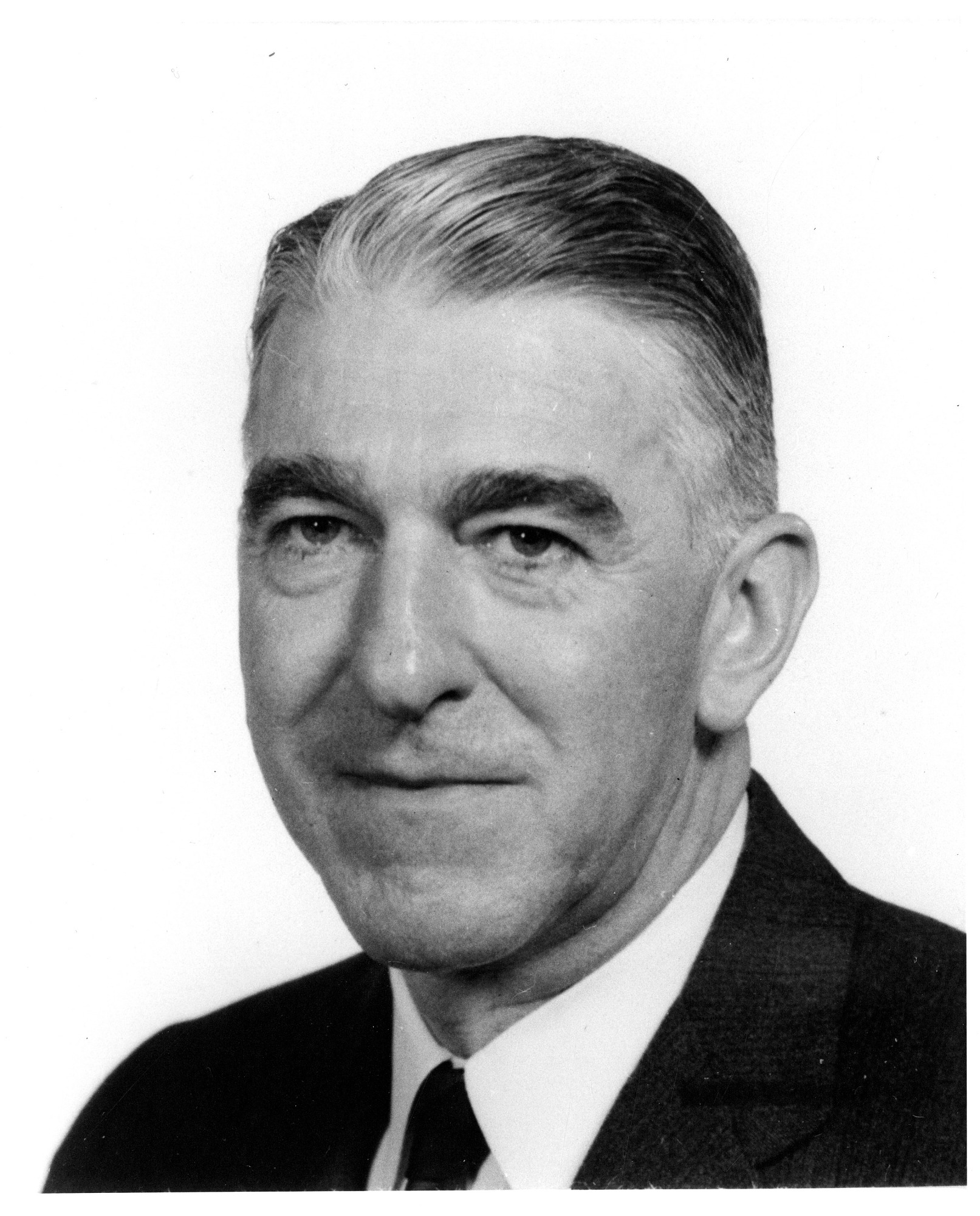 Frank A. Taylor, by Unknown, 1962, Smithsonian Archives - History Div, SIA2010-0495 and 83-2077.