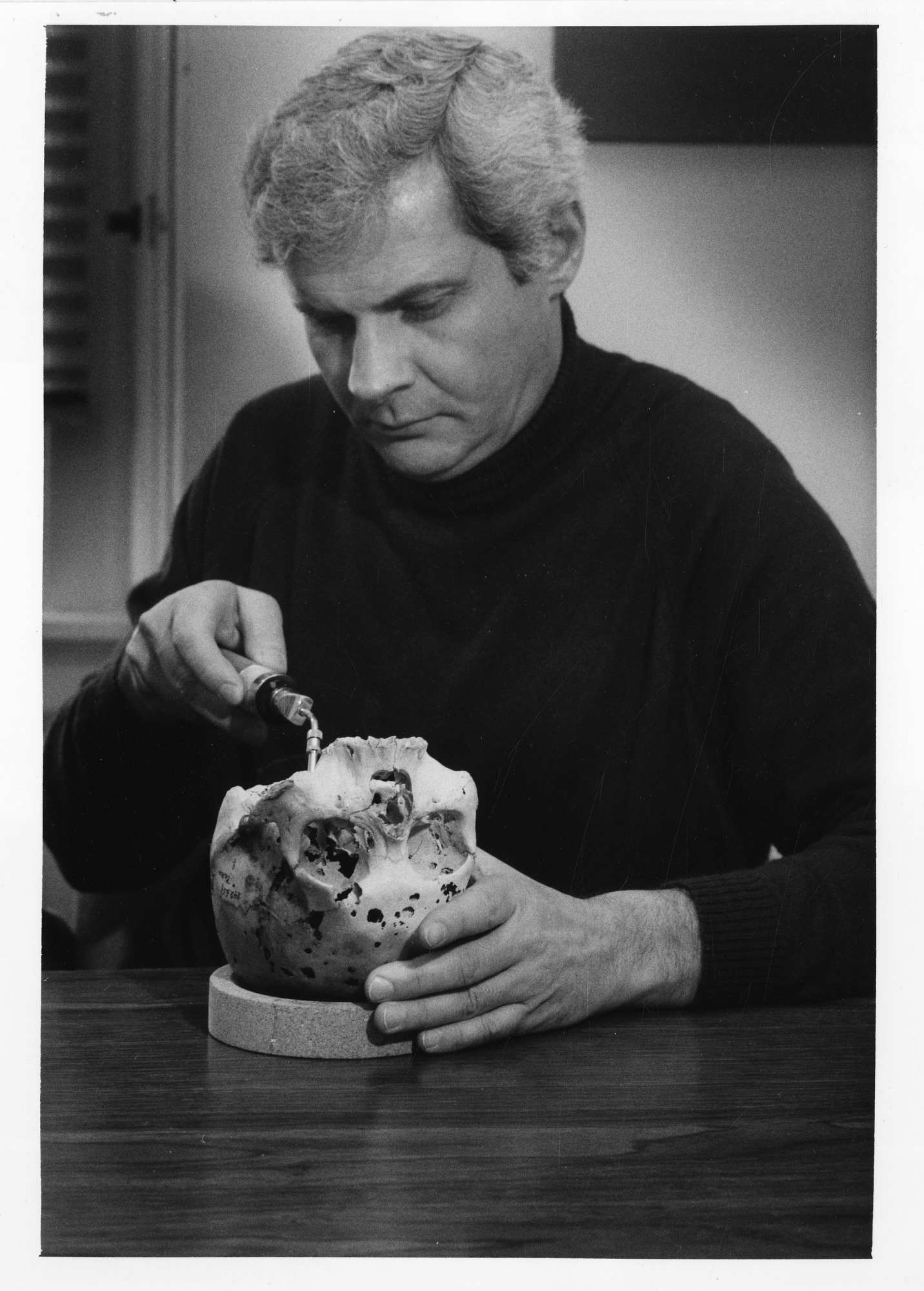 Dr. Donald J. Ortner, by Penland, Dane A, 1986, Smithsonian Archives - History Div, SIA2010-0617.
