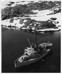 USS Burton Island (AG 88) in Antarctica