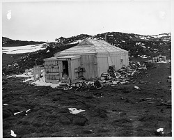 Expedition Building in Antarctica