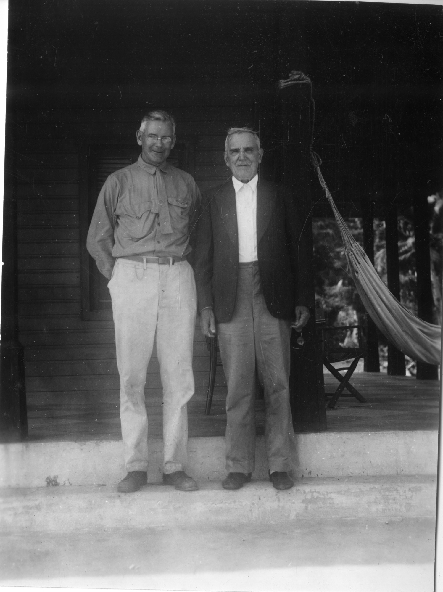 Alexander Wetmore and Henri Pittier in Venezuela