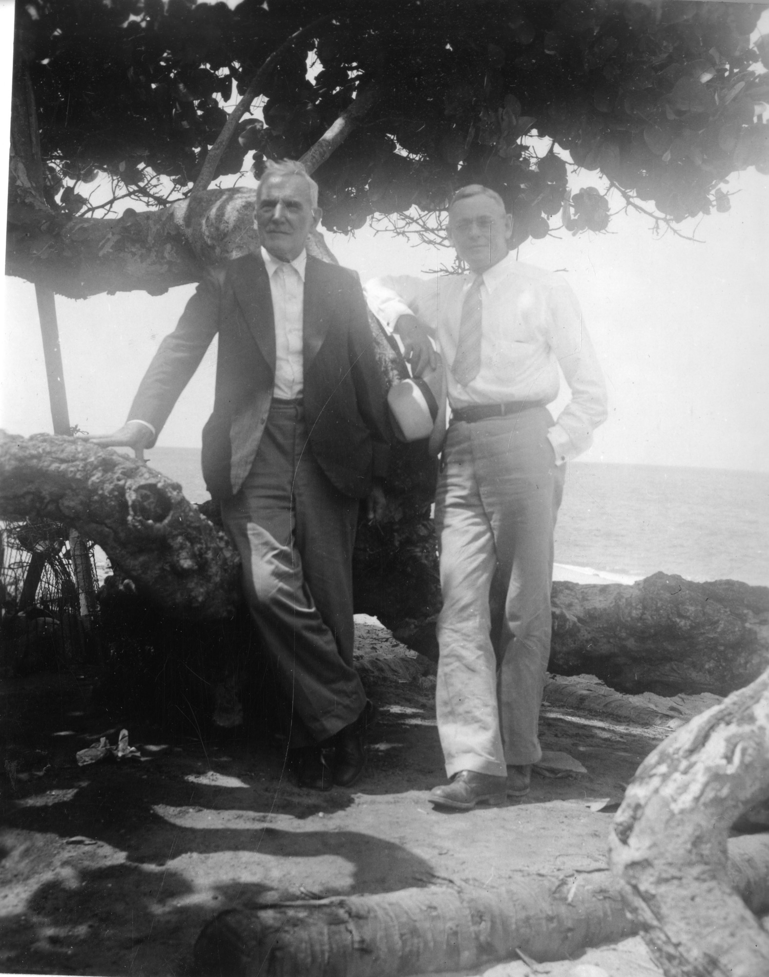 Henri Pittier and Wilson Popenoe in Venezuela