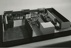 Model of Exhibit Layout, Proposed MHT
