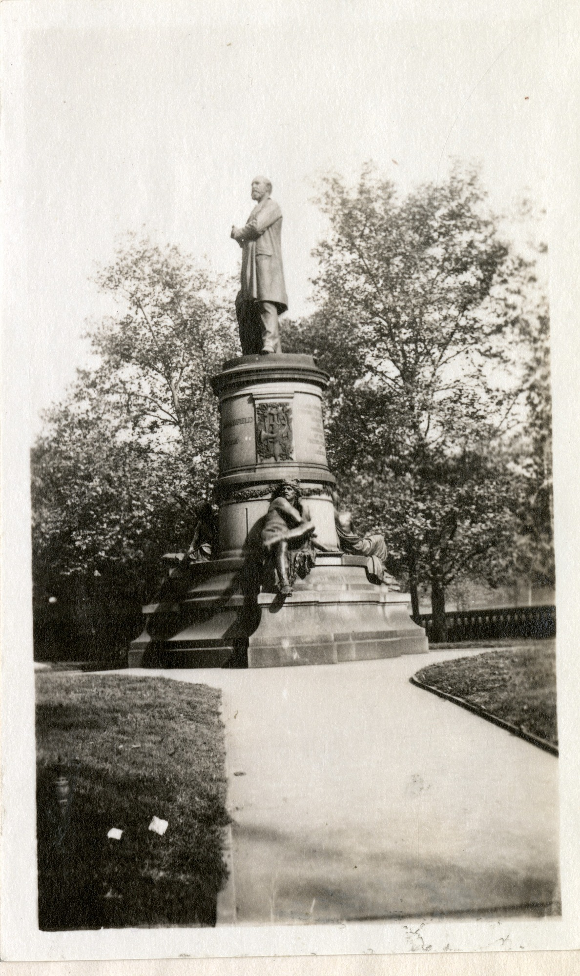 James A. Garfield Monument, 1919, Smithsonian Institution Archives, SIA RU007355 [SIA2010-2016].