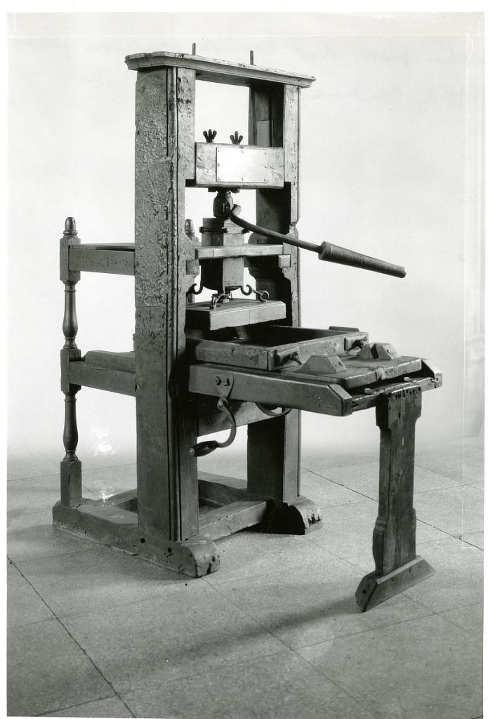 Apr 23 Franklin Printing Press