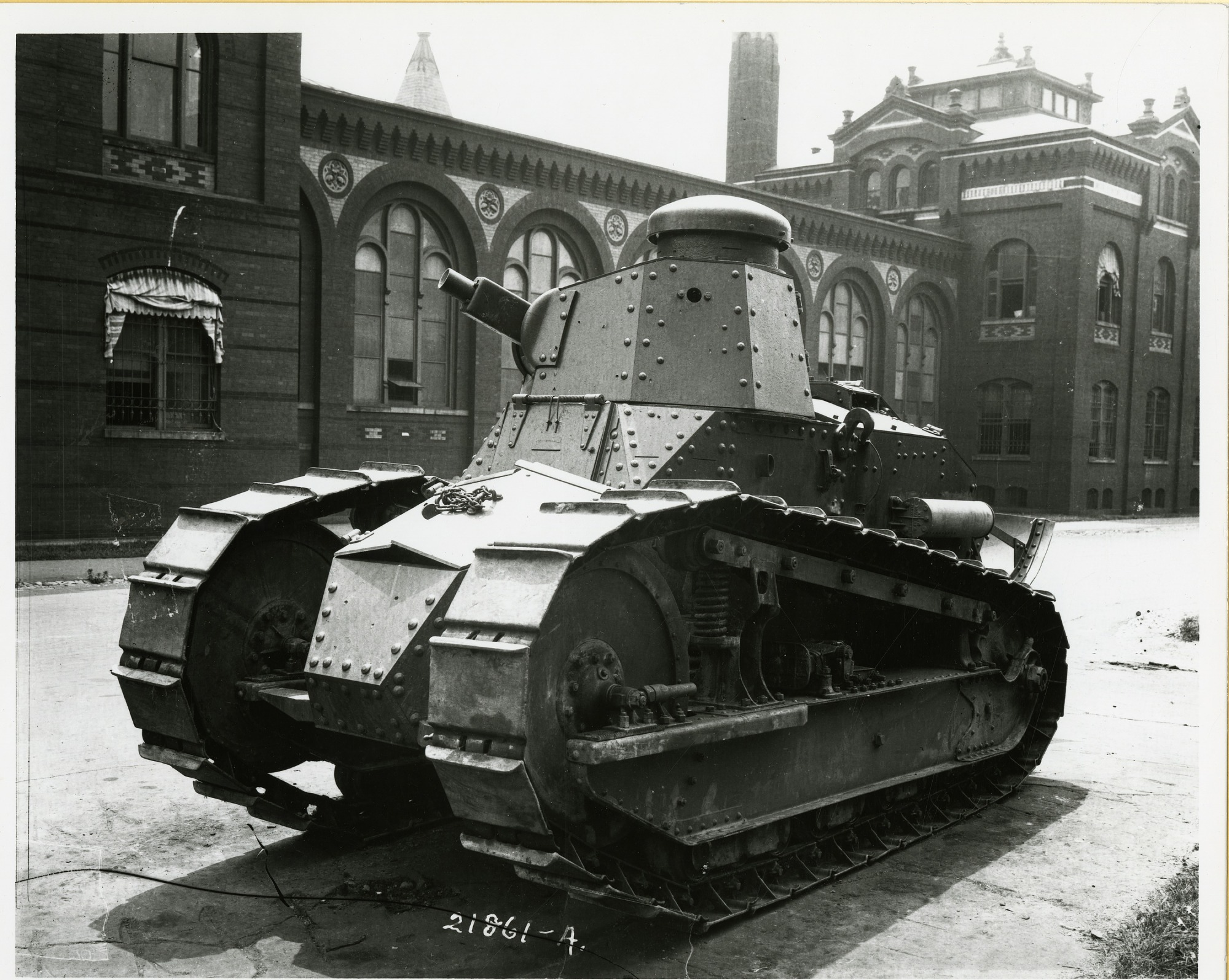 World War I Tank Outside National Museum