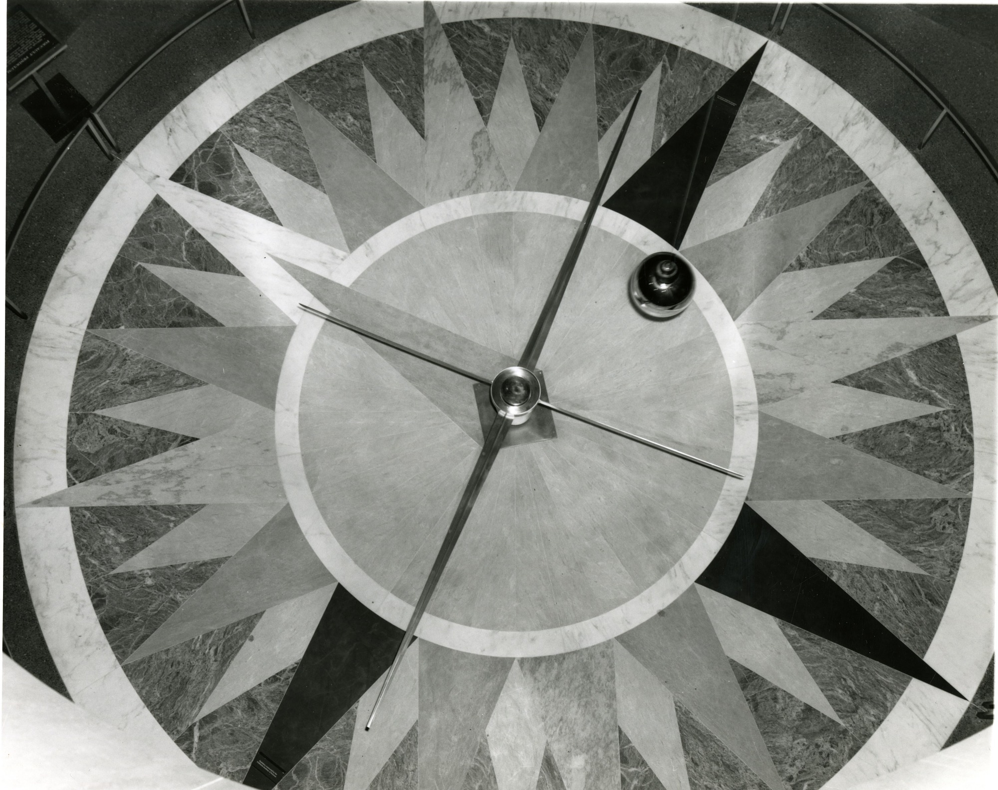 images for Looking Down on the Foucault Pendulum