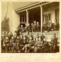 Group Photograph of Wheeler Survey c. 1870