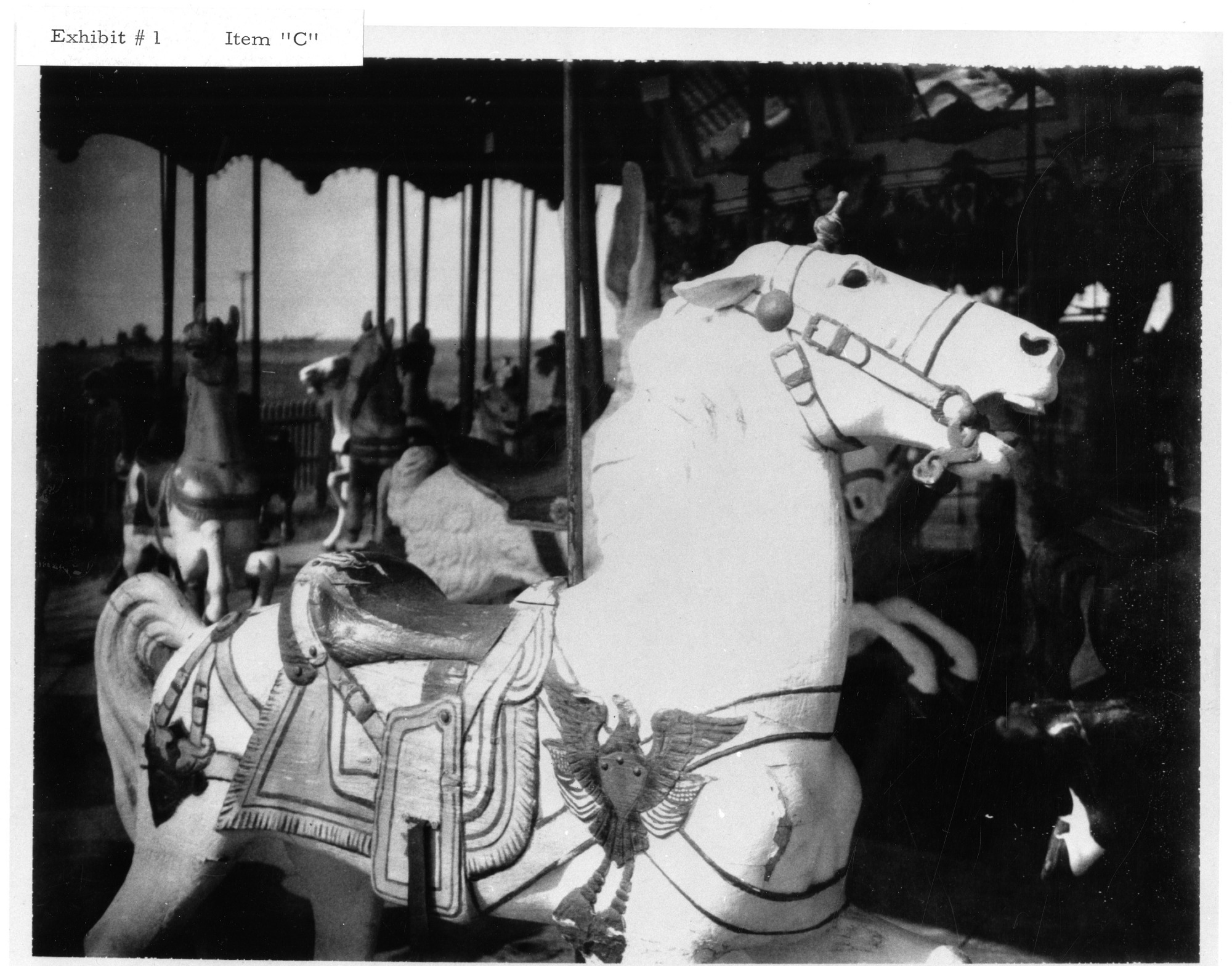 Dentzel Carousel in 1966, 1966, Smithsonian Institution Archives, SIA RU000285 [SIA2010-3447].