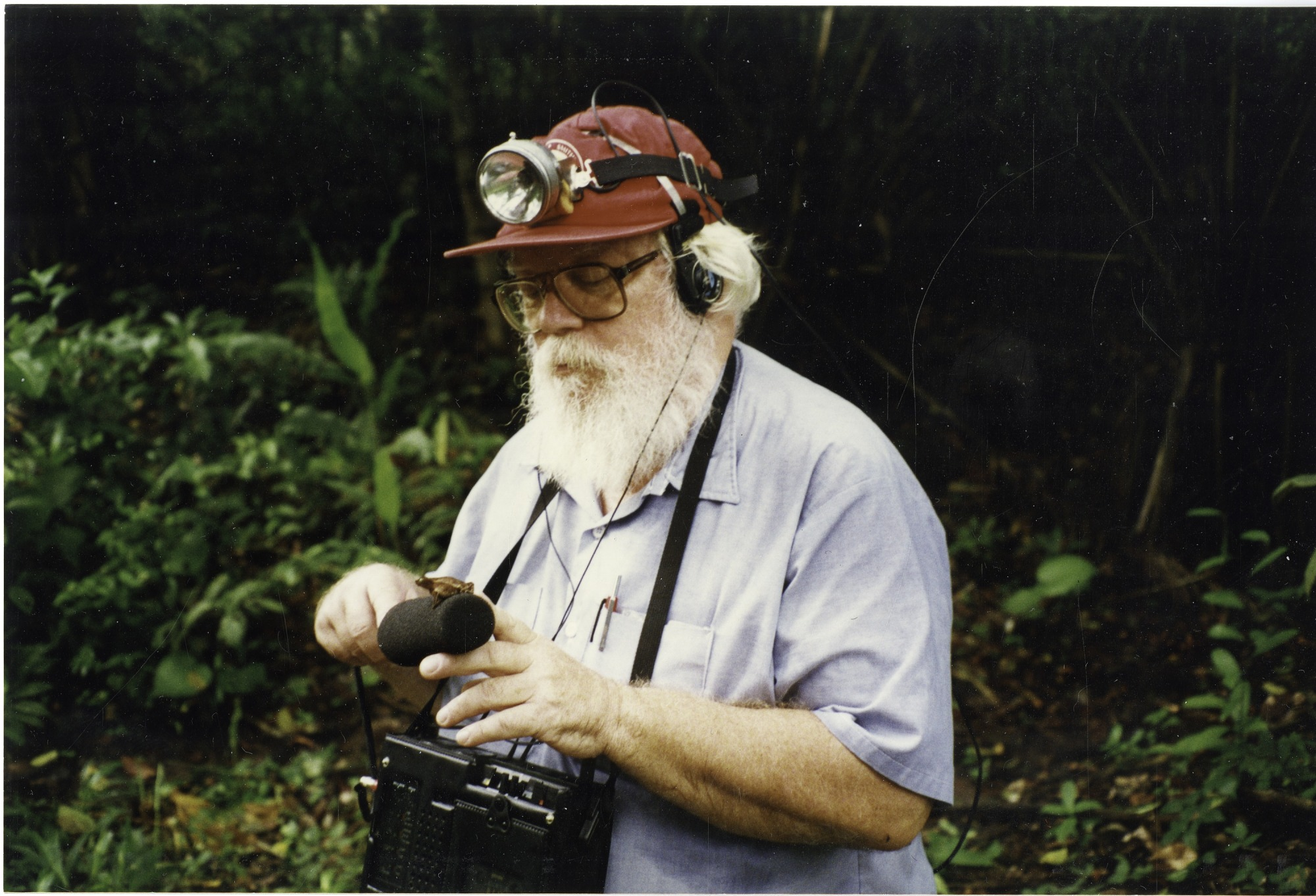 Stan Rand in the Field, June 1996, Smithsonian Archives - History Div, SIA2011-0032.
