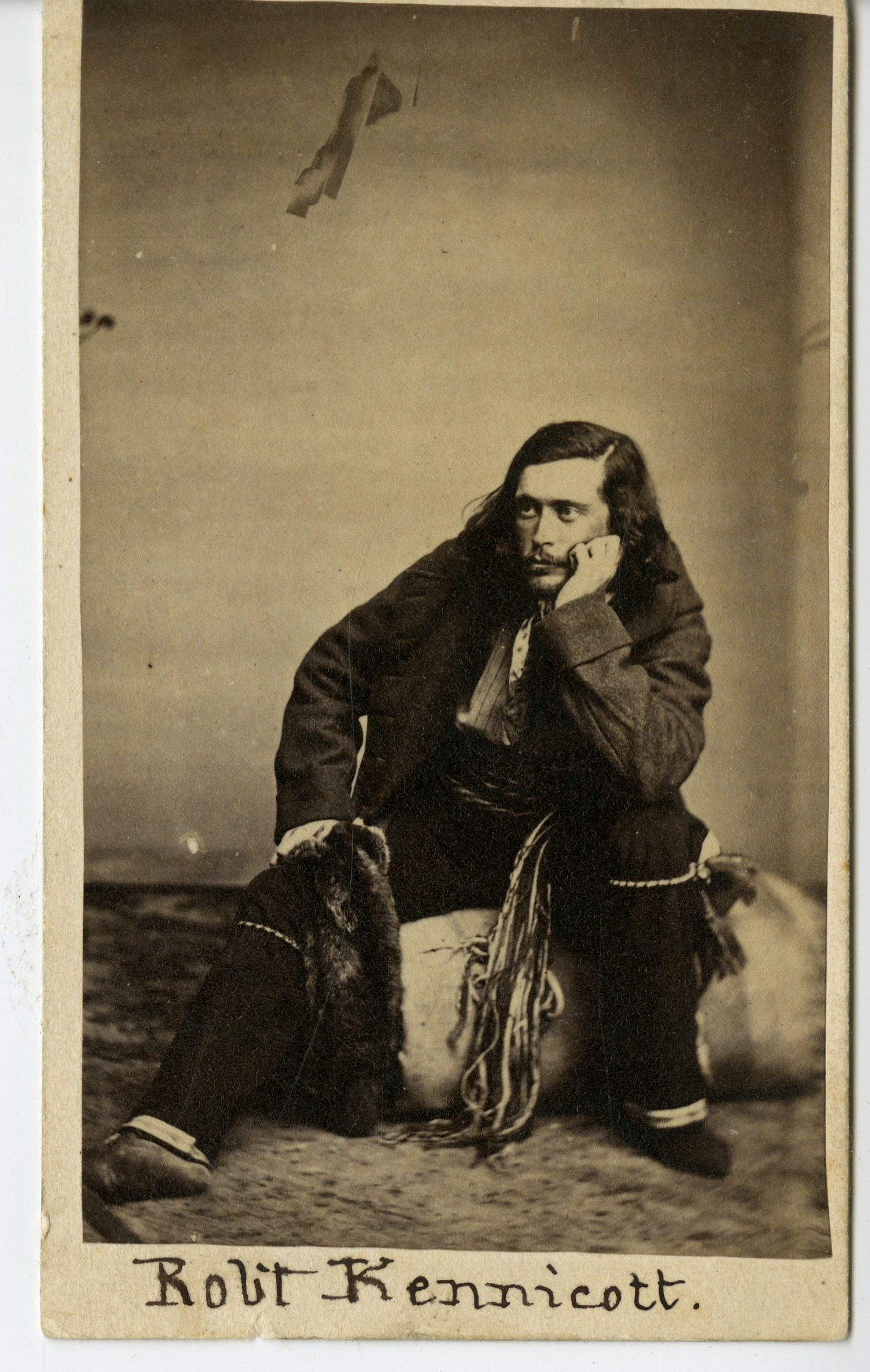 Robert Kennicott, Explorer, in Field Outfit