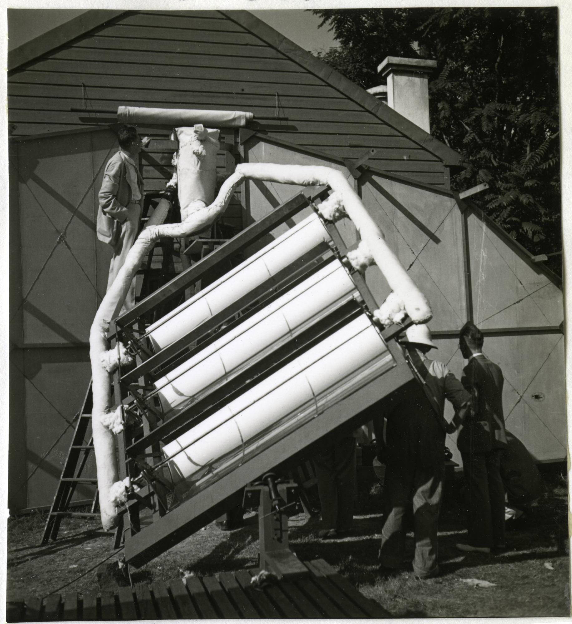 Charles G. Abbot's Solar Panels