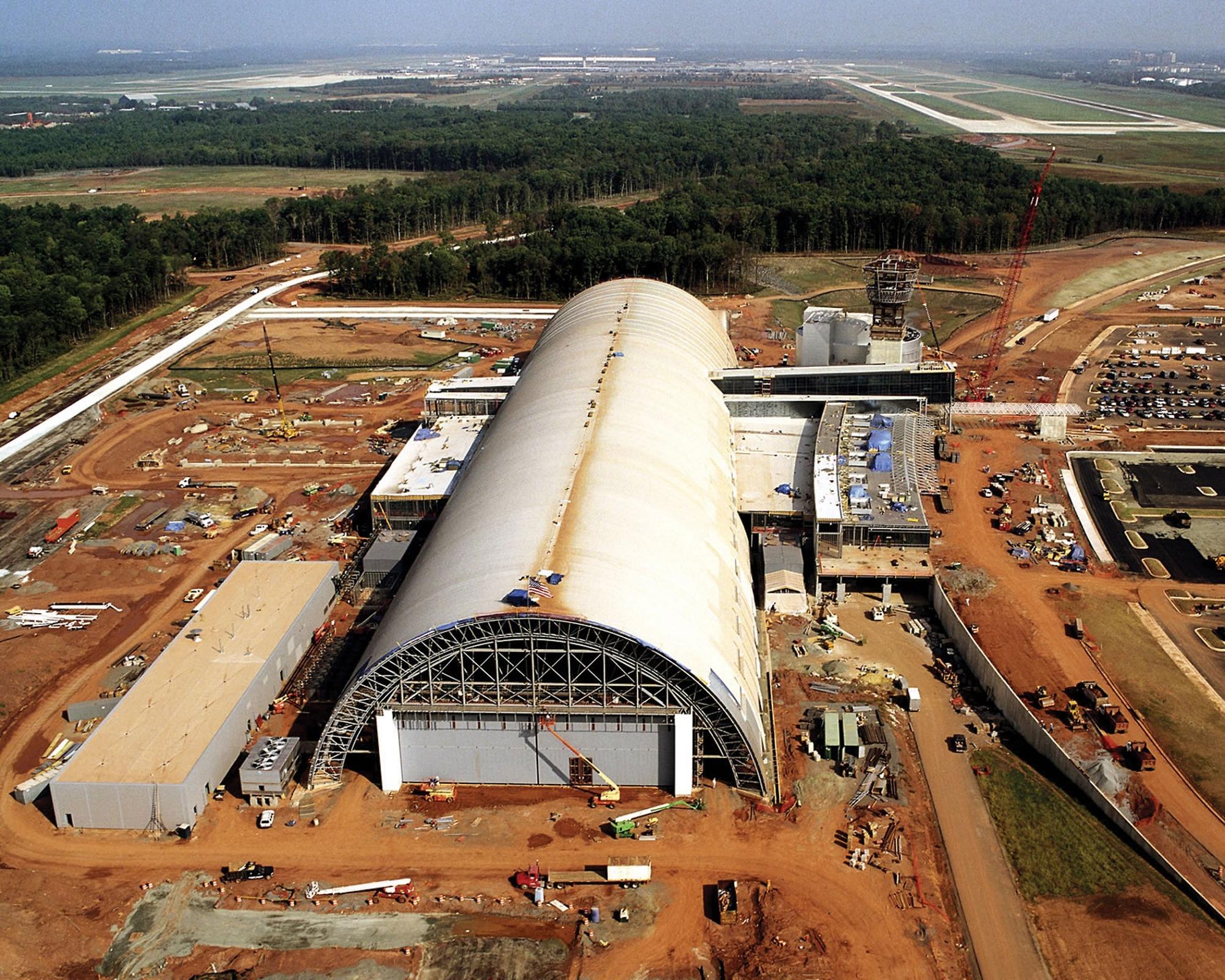 Steven F. Udvar-Hazy Center Under Construction