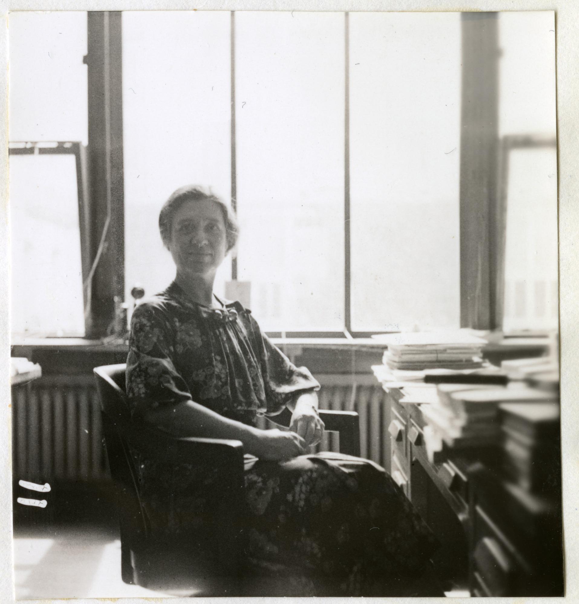 Mrs. Leila Forbes Clark Facing Camera