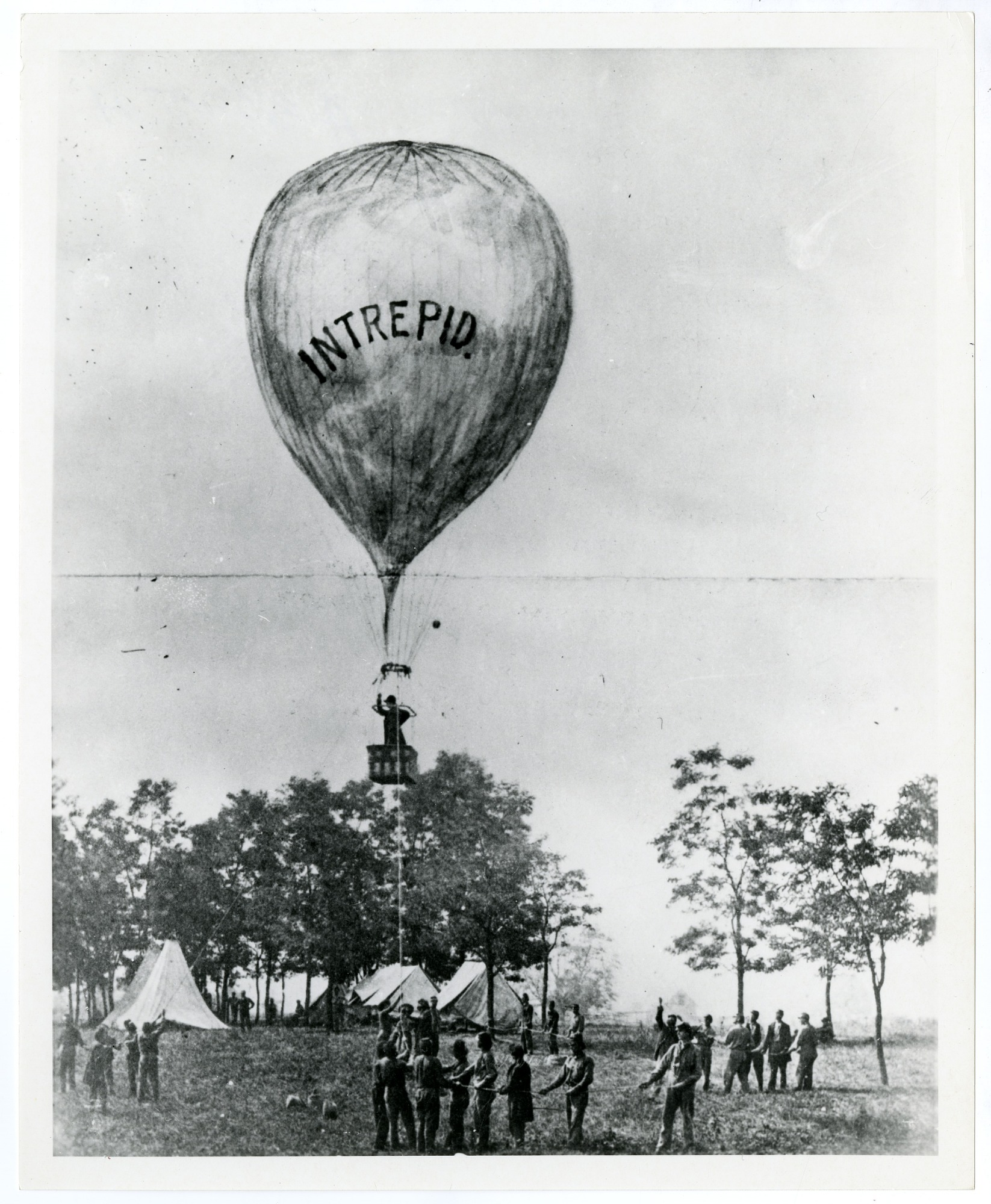 images for Thaddeus Lowe's Balloon Ascent