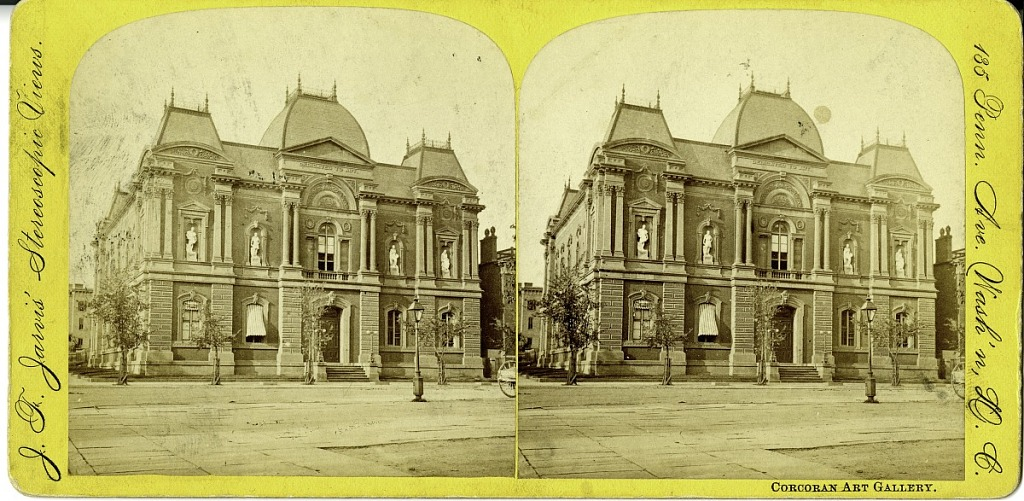 May 31 Exterior of Renwick Gallery (19th c.)