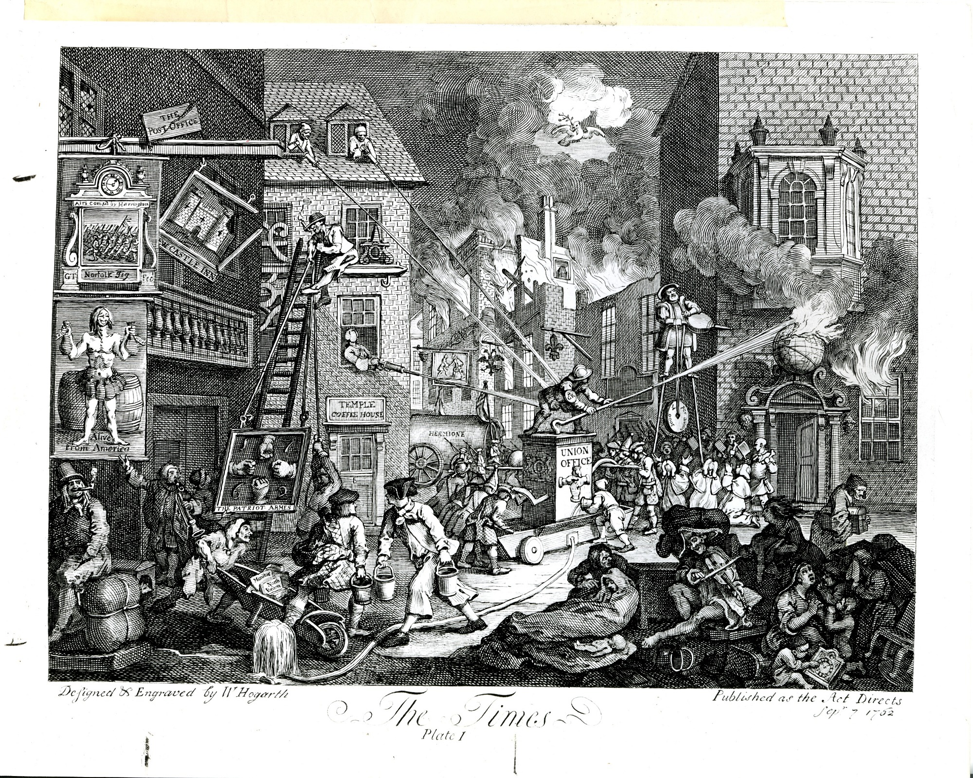 """""""The Times"""" Engraving"""
