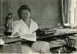 Friedrich Karl Ritter in his study
