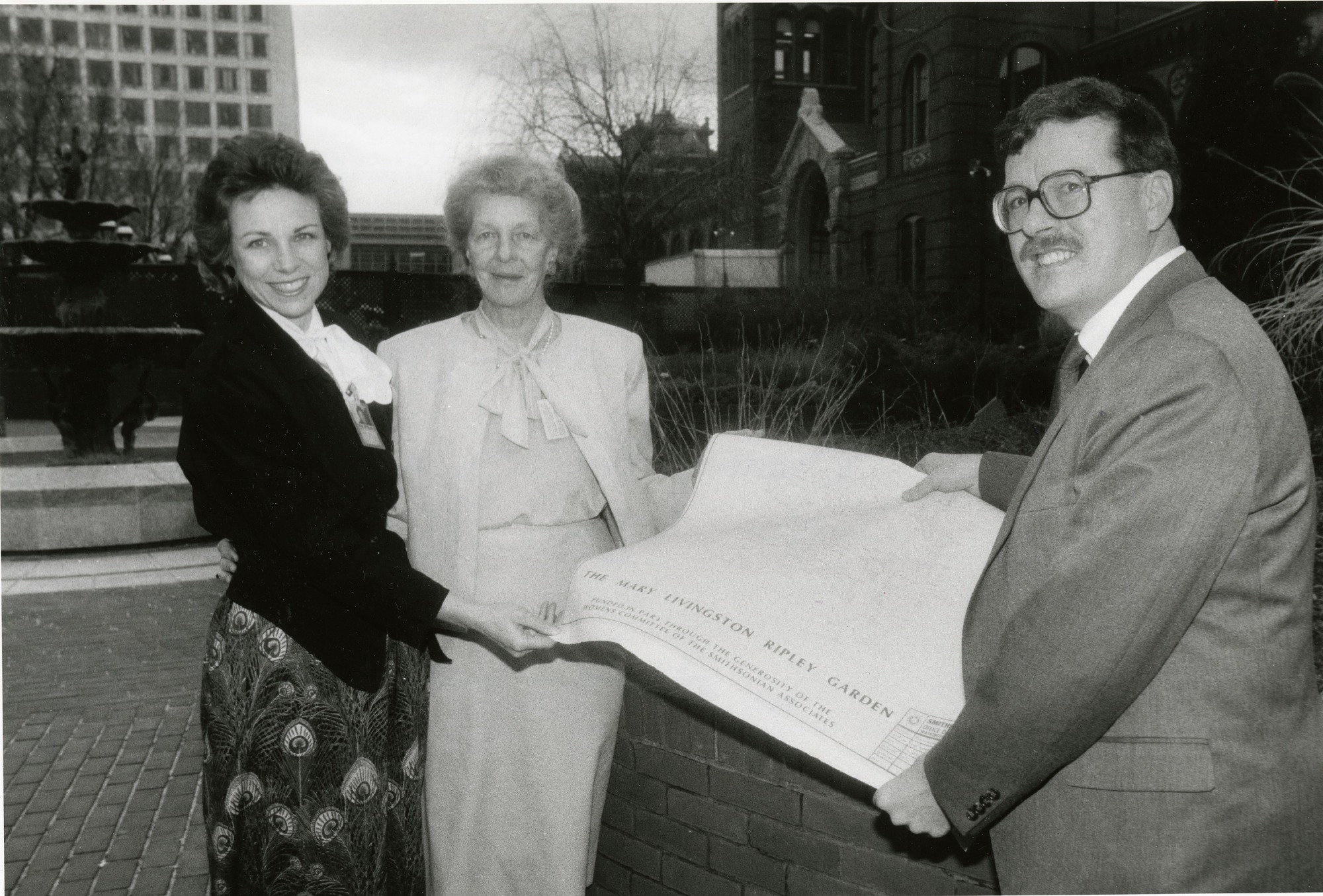 Holding Plans for the Mary Ripley Garden