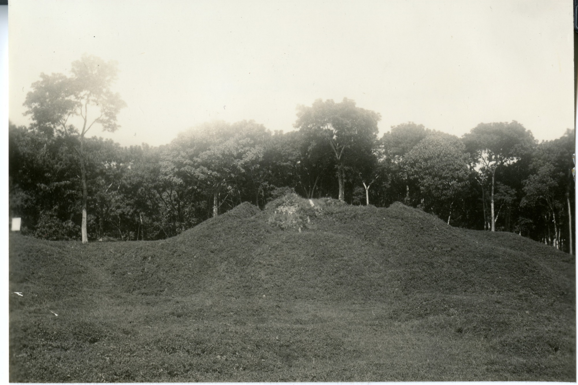 Mayan Mound in Guatemala
