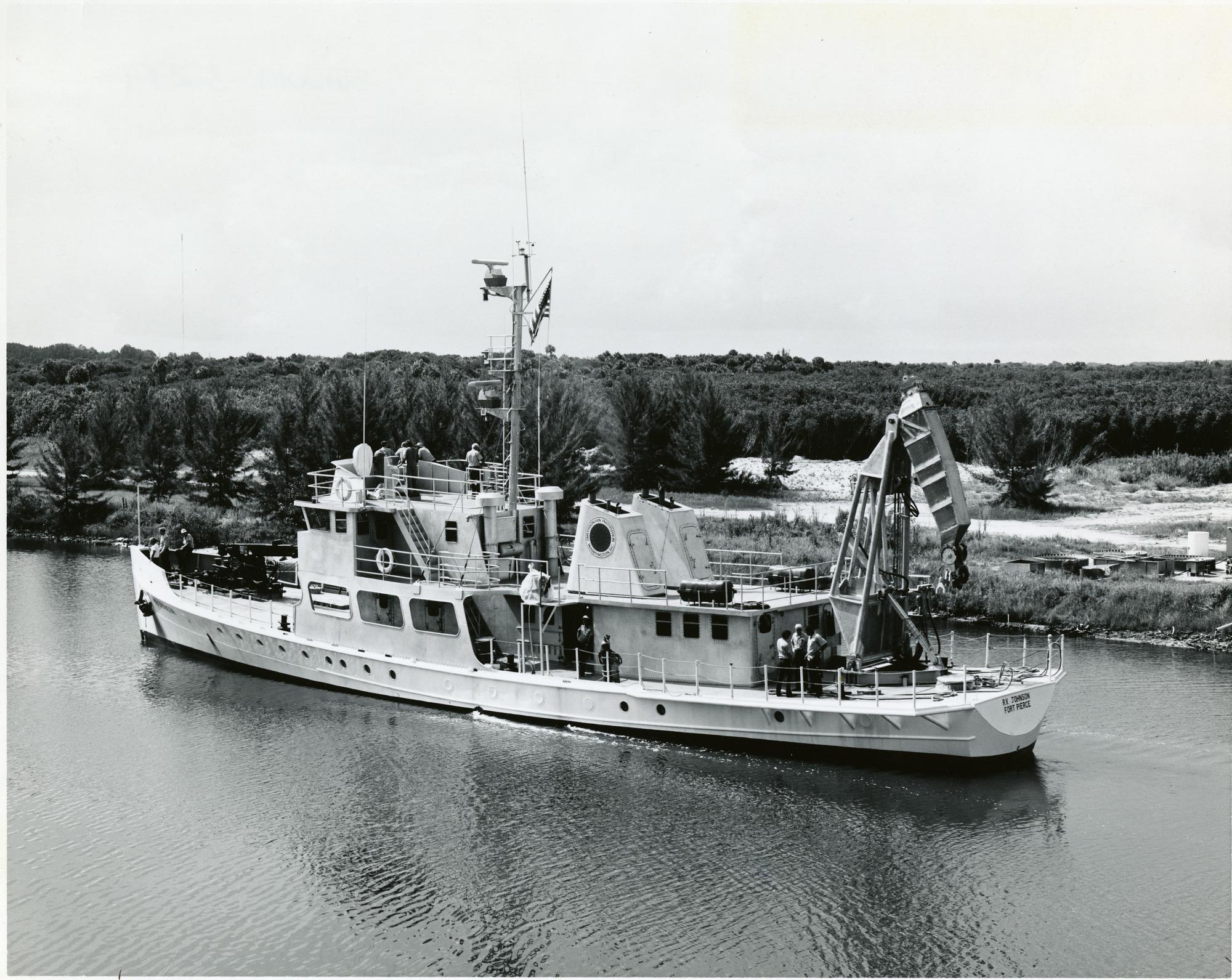 """SI Research Vessel, The """"R. V. Johnson"""""""