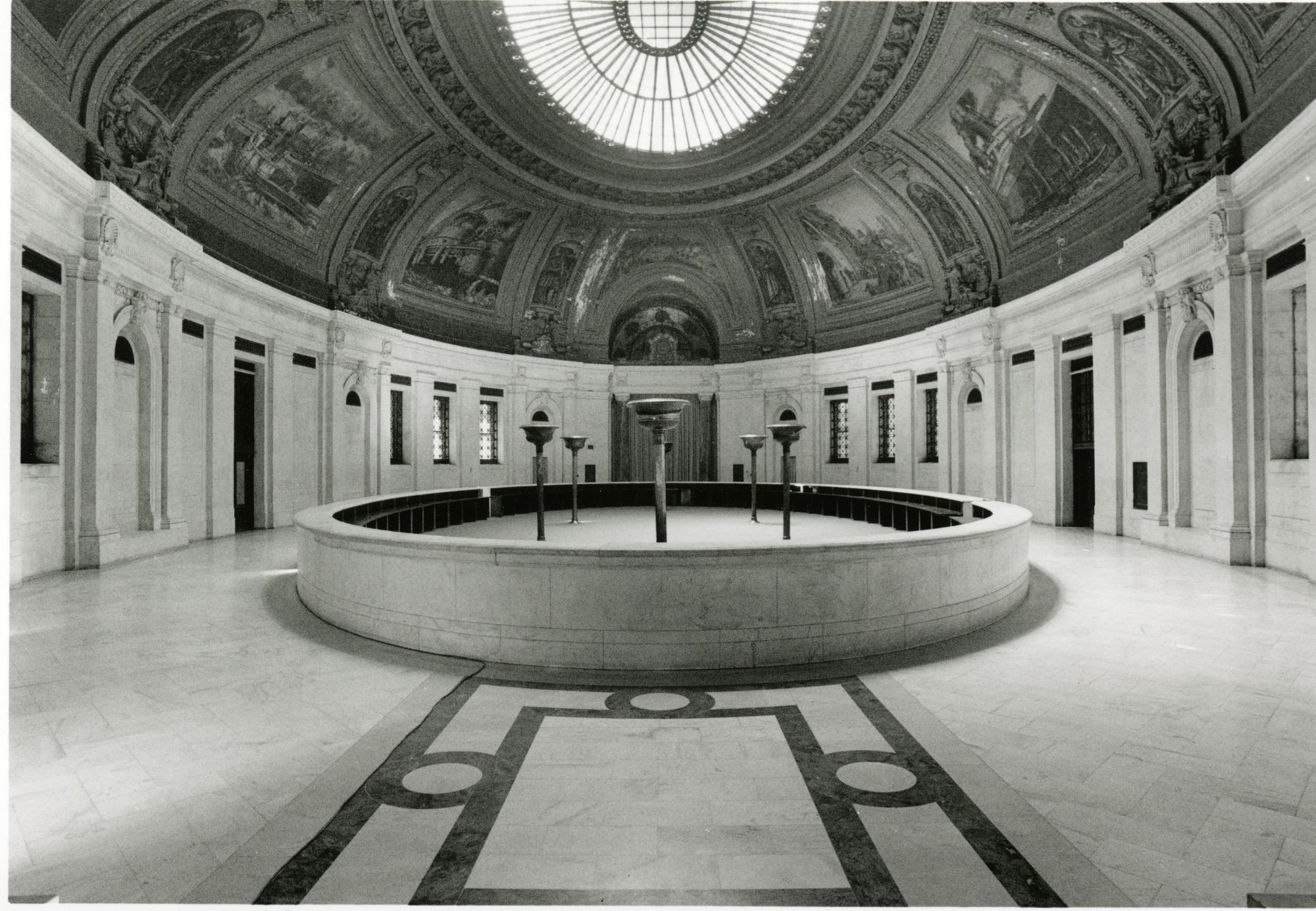 Interior of Alexander Hamilton Customs House with Fountain